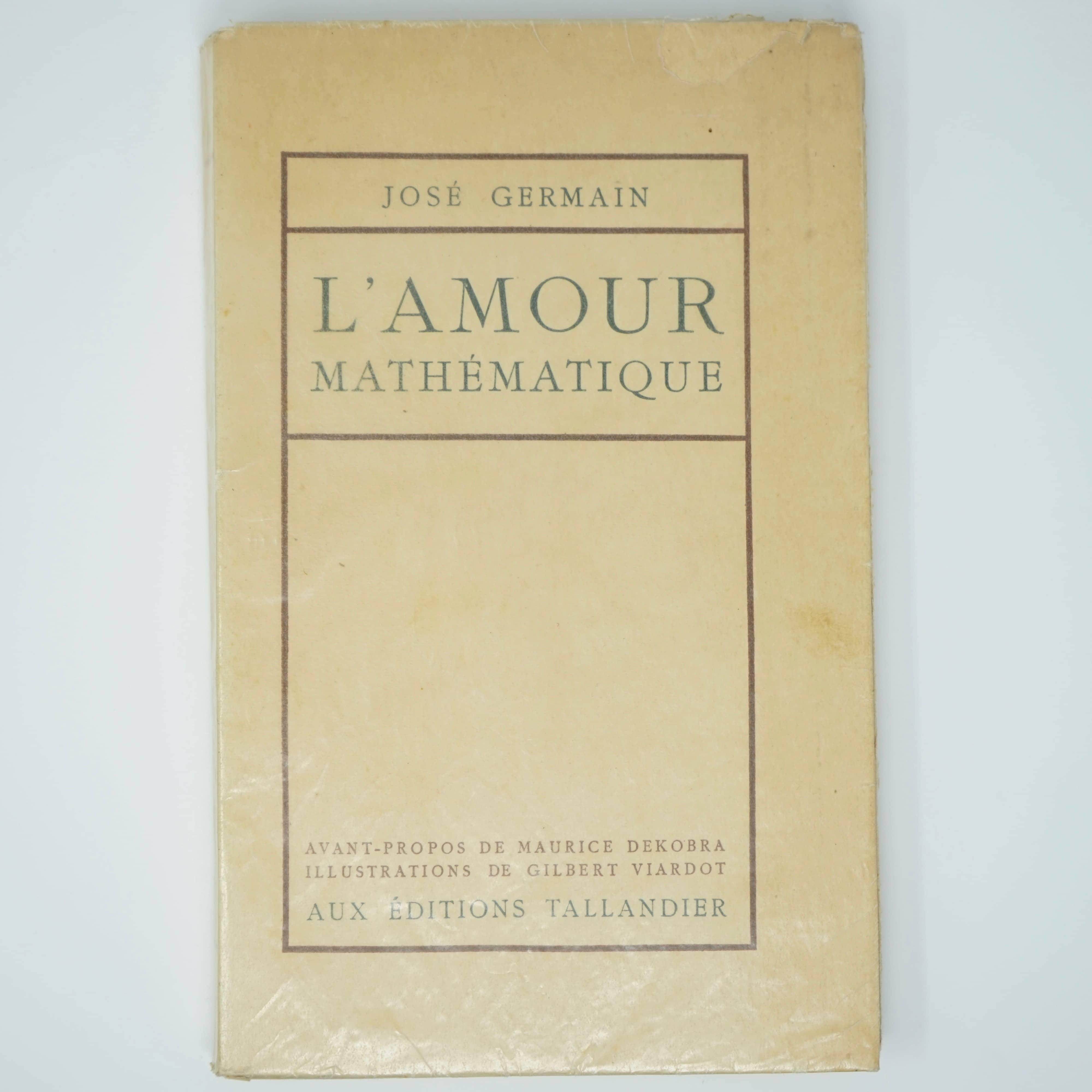 Livre L'Amour Mathématique