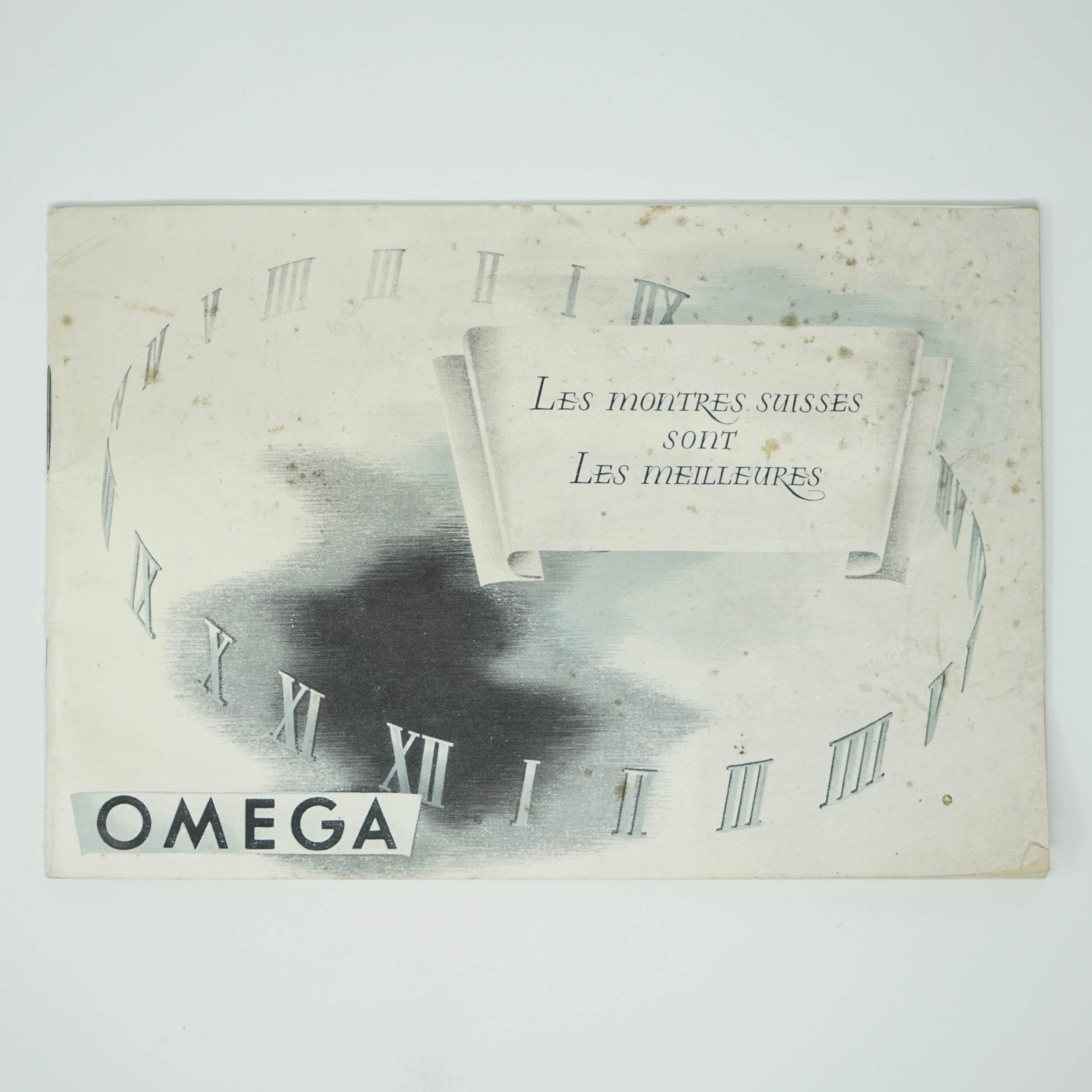 Catalogue Omega Ancien de 1946