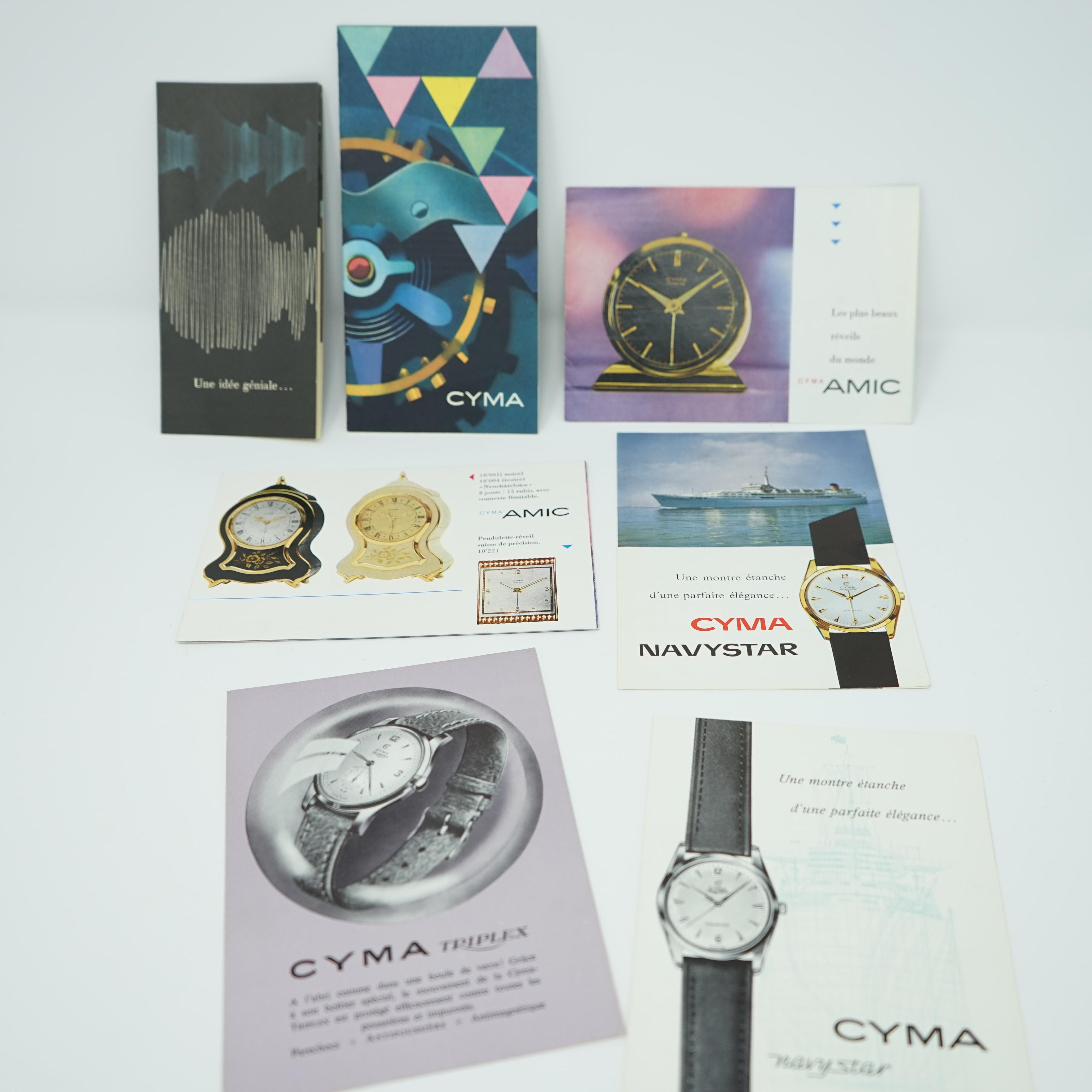 Fascicules CYMA et AMIC 1950