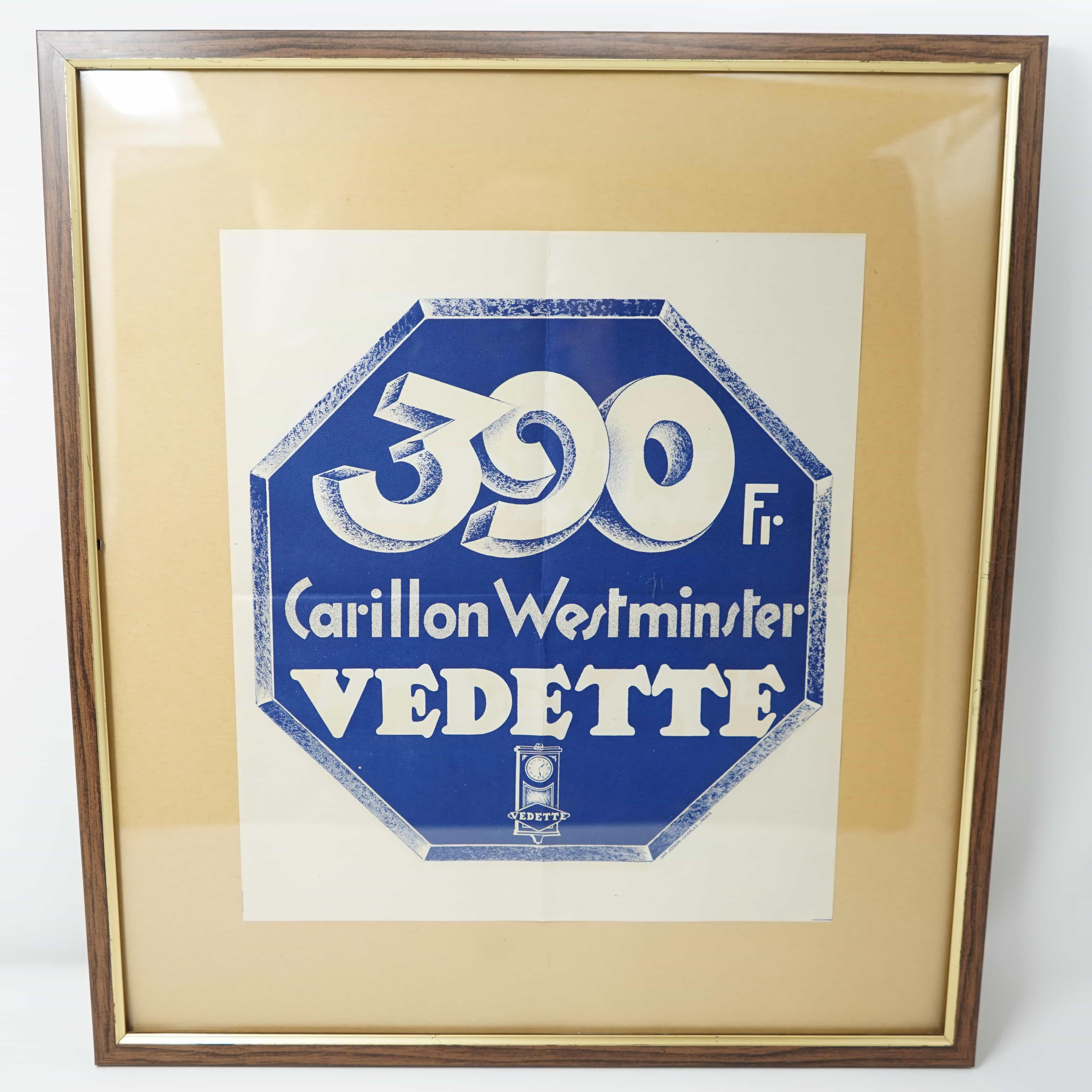Publicité Carillon Vedette Encadré