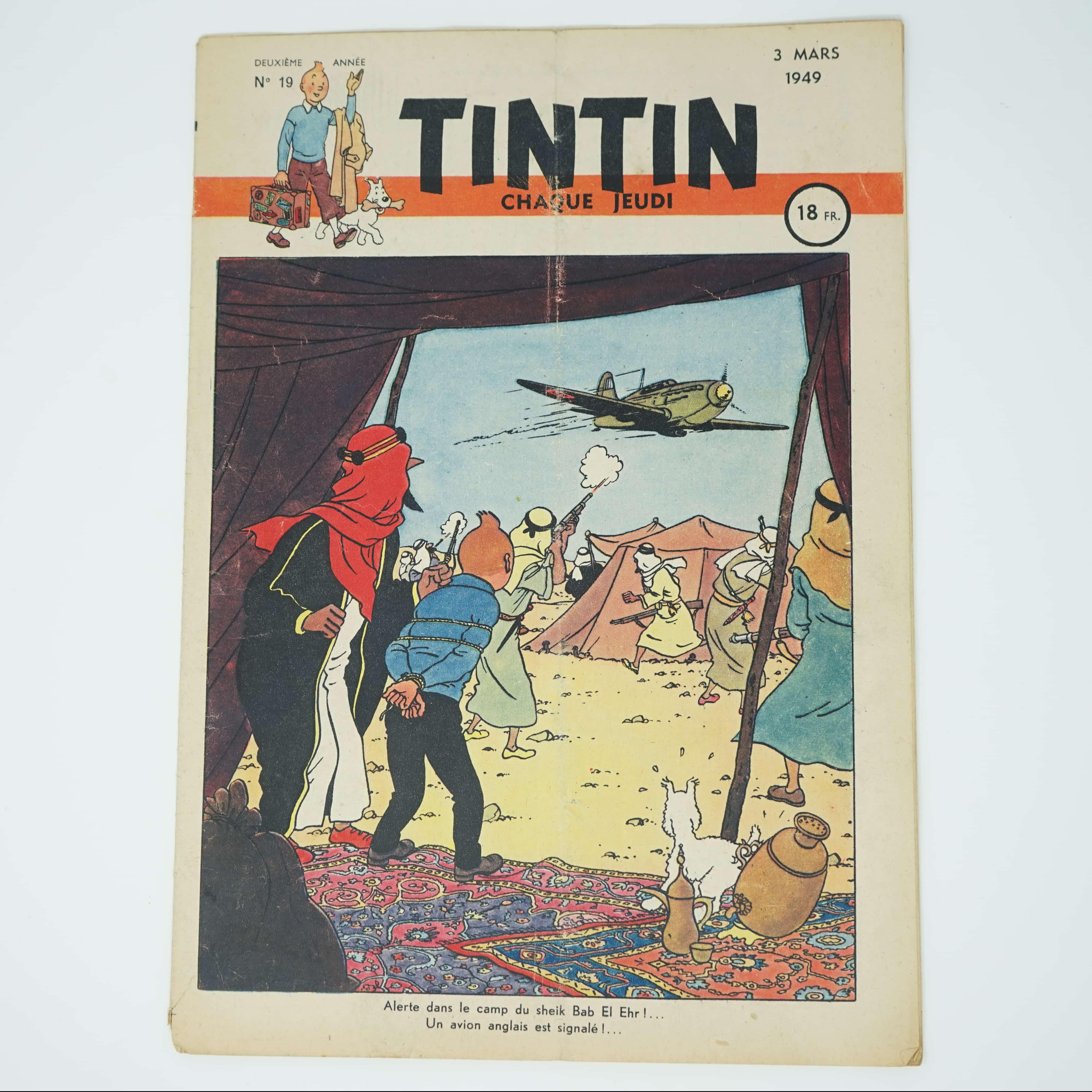 Tintin Édition Française N°19