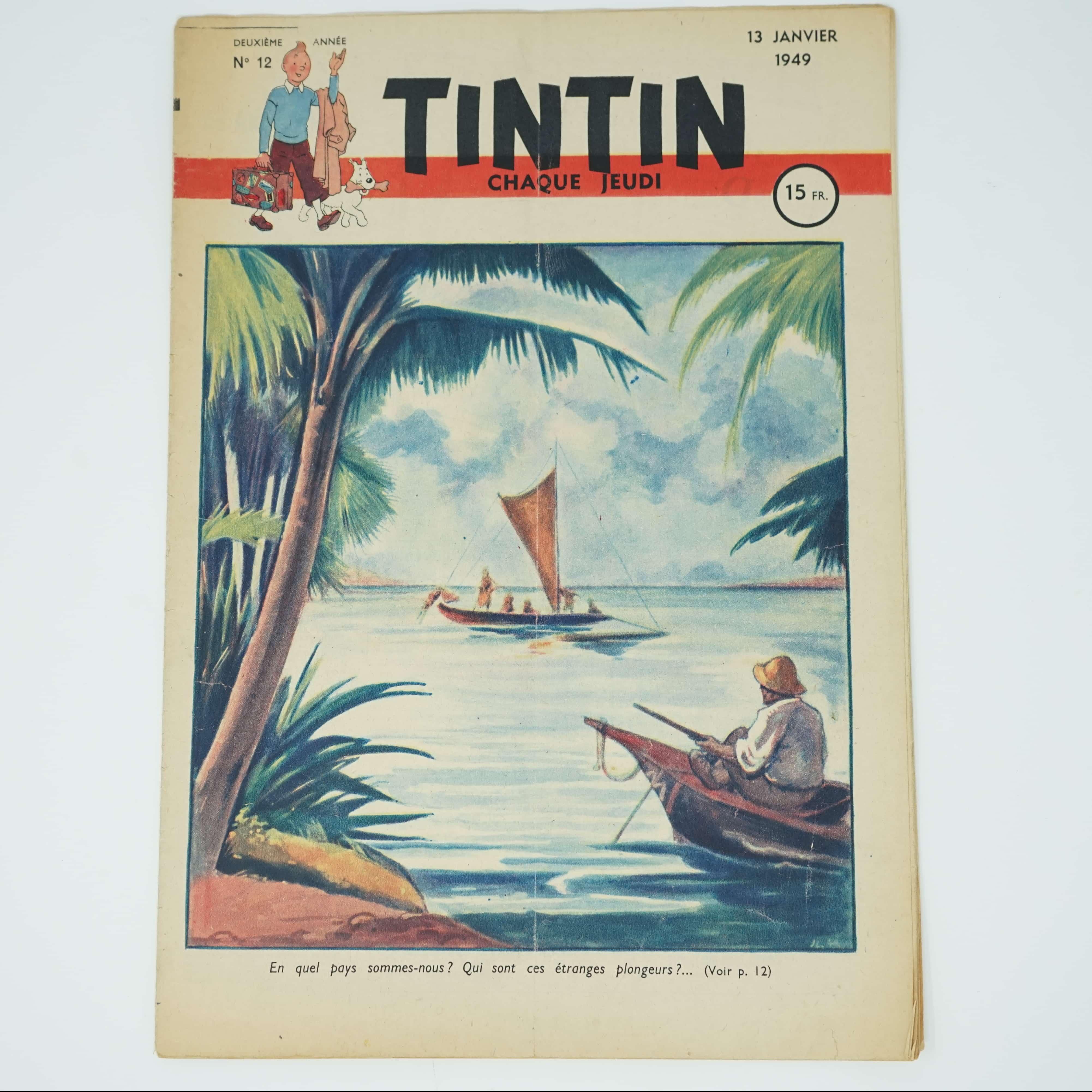 Tintin Édition Française N°12