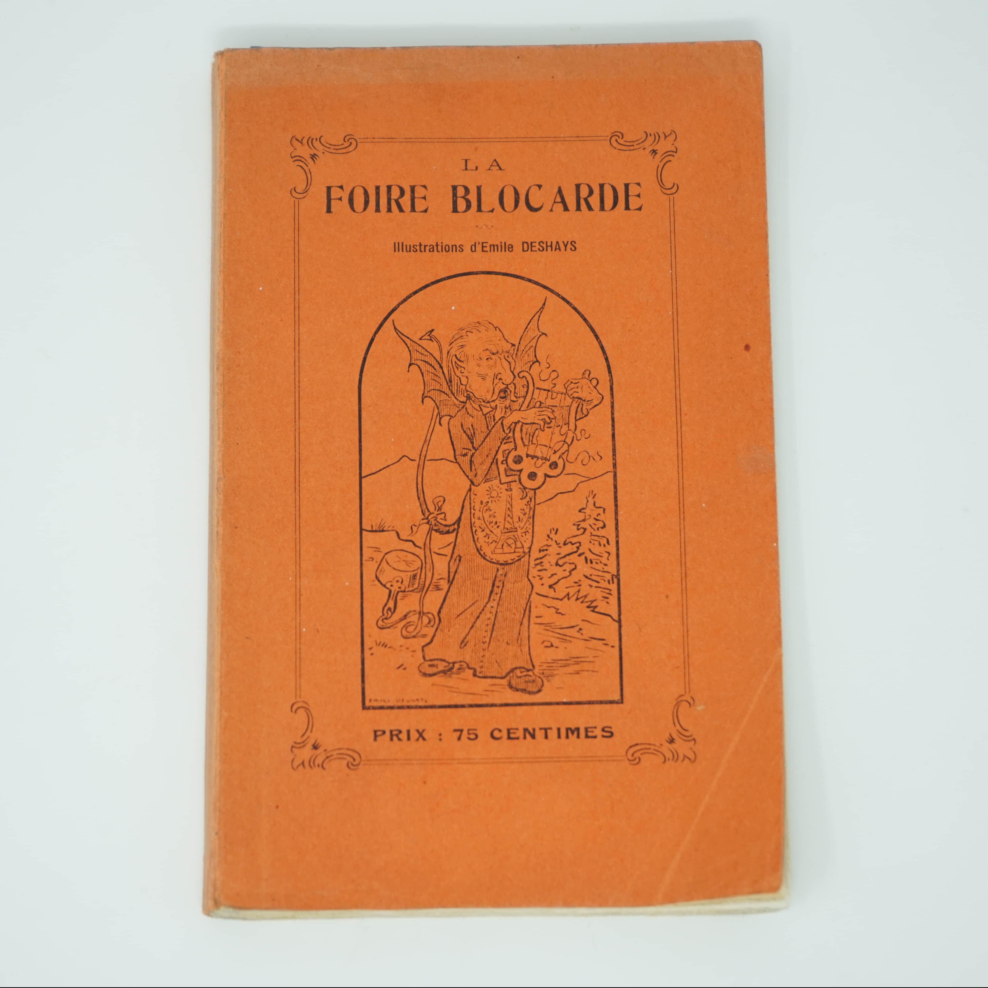 Livre La Foire Blocarde 1914