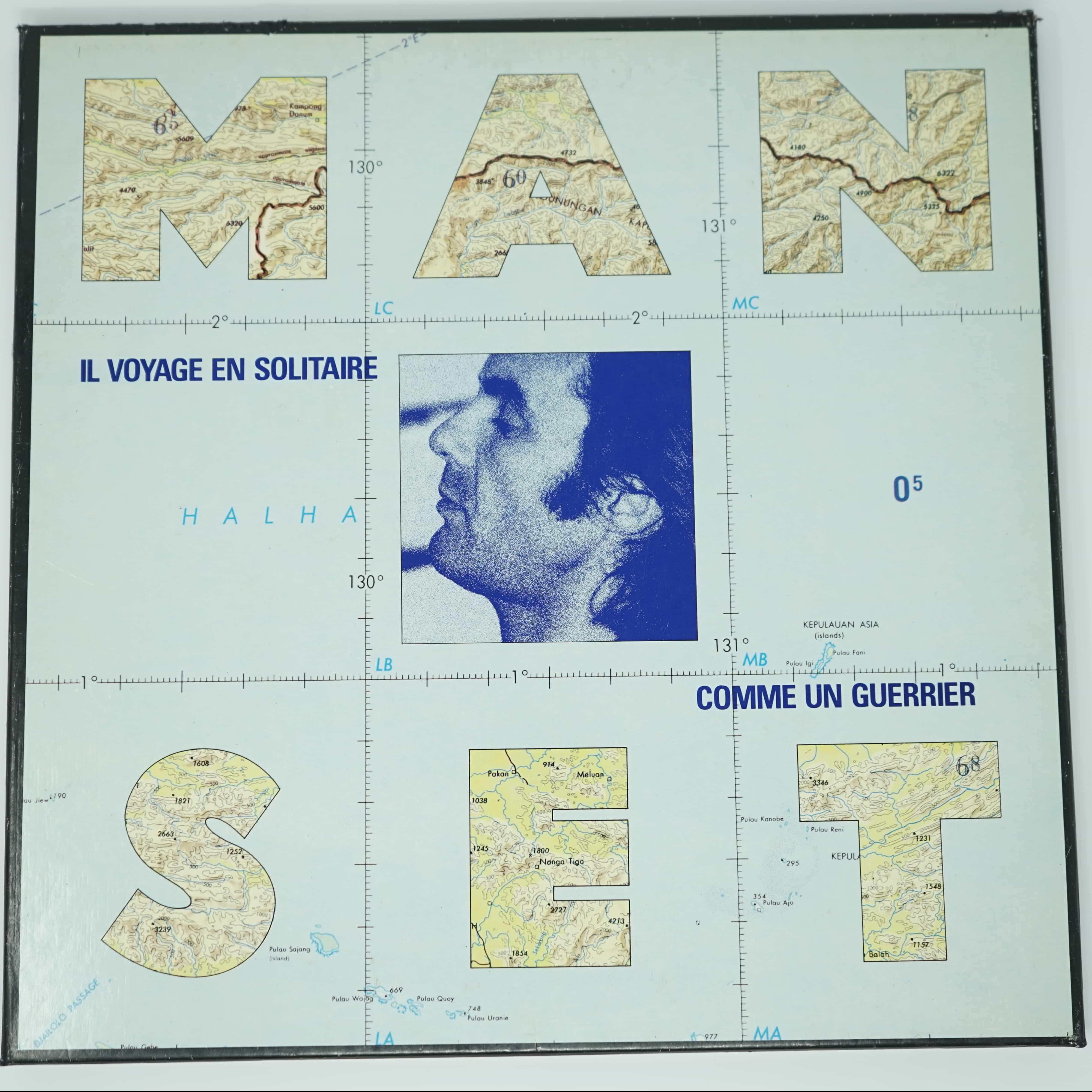 Coffret 3 vinyles Gerard Manset