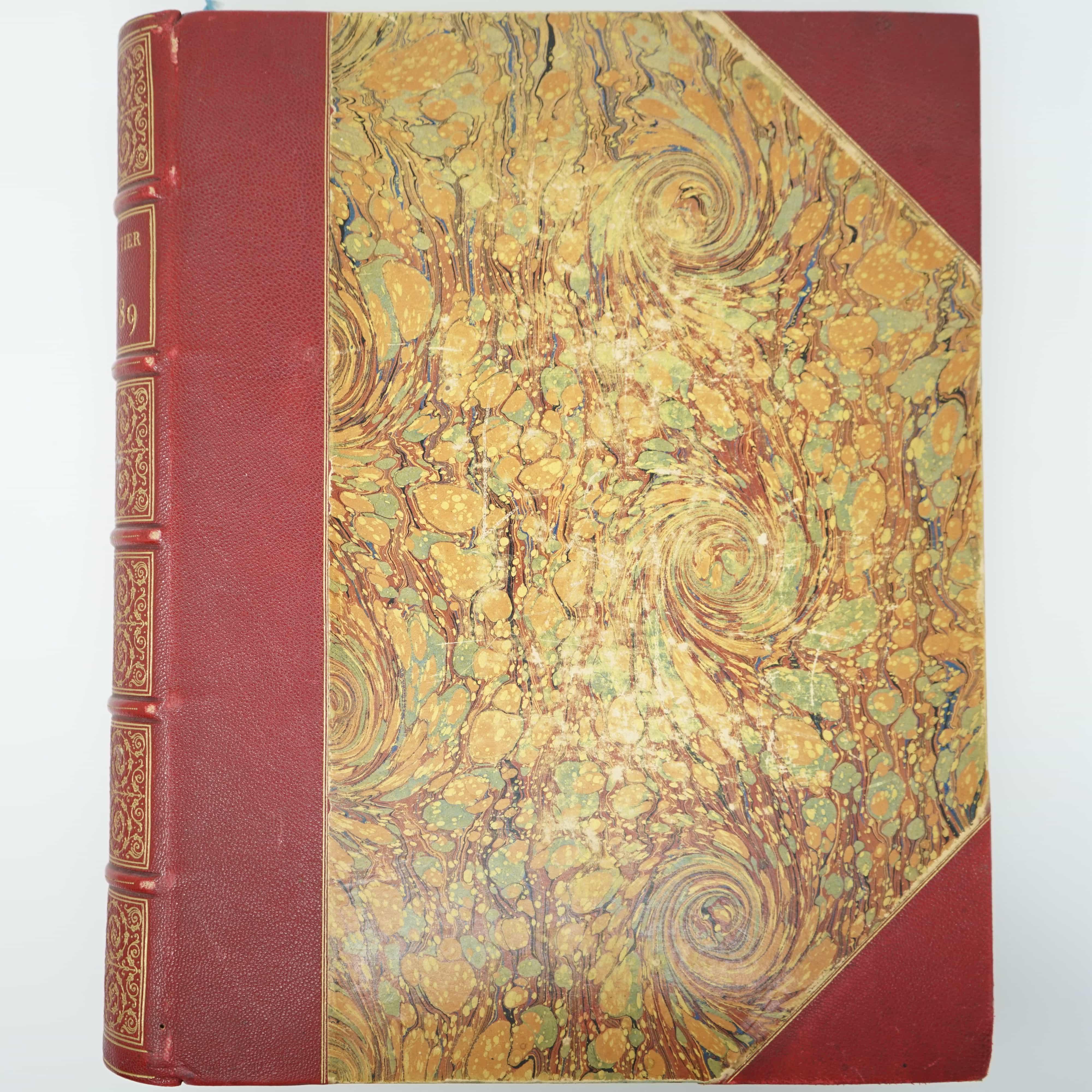 Livre L'an 1789 d'Hippolyte Gautier Couverture