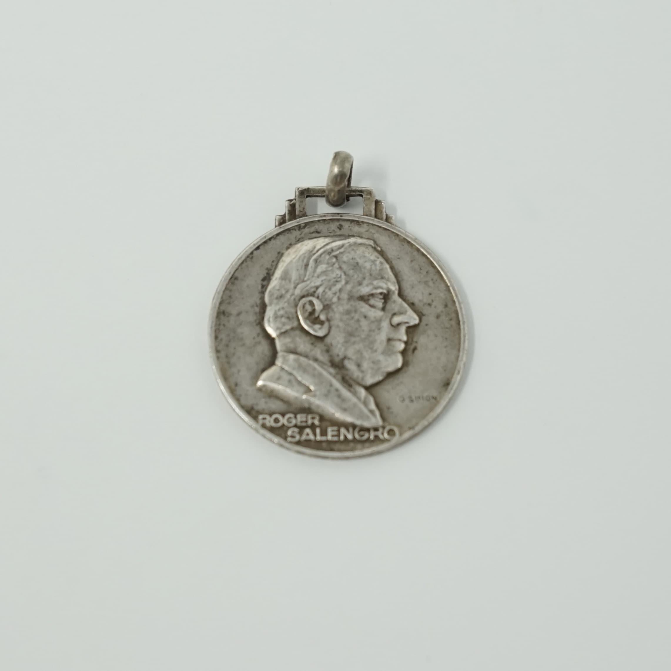 Médaille Roger Salengro en Argent