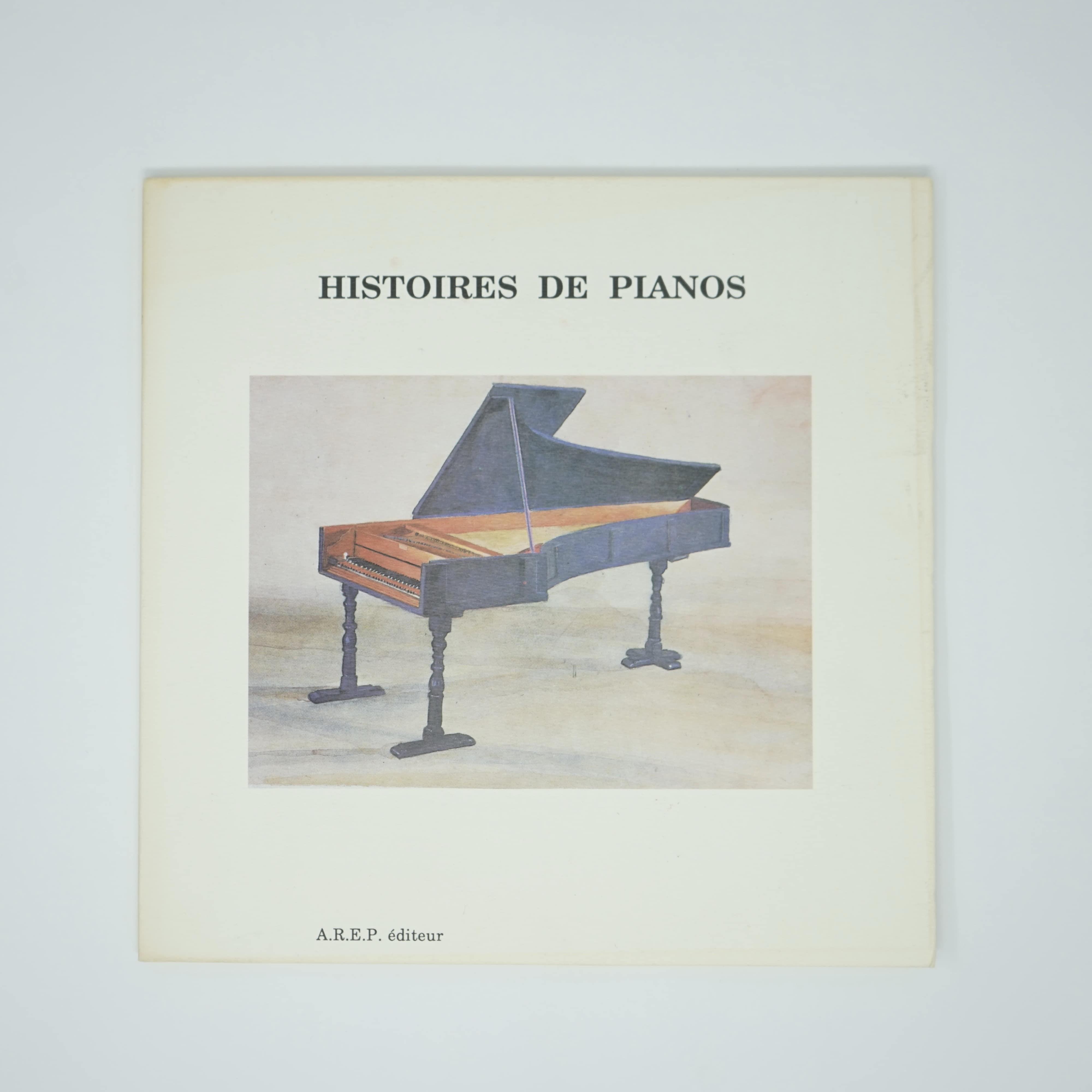 Livre Histoires de Pianos Année 1990 couverture