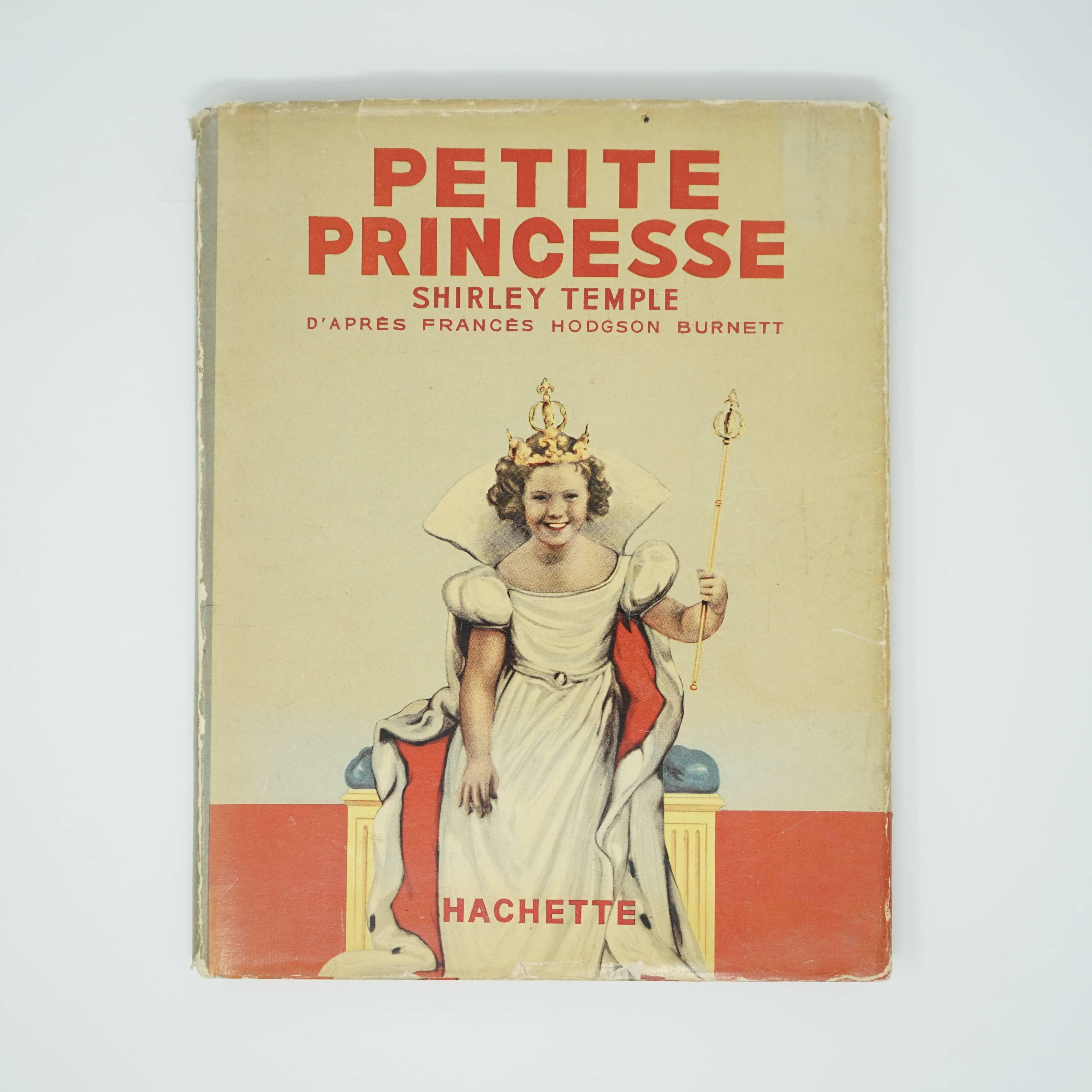 Livre Petite Princesse Shirley Temple Couverture