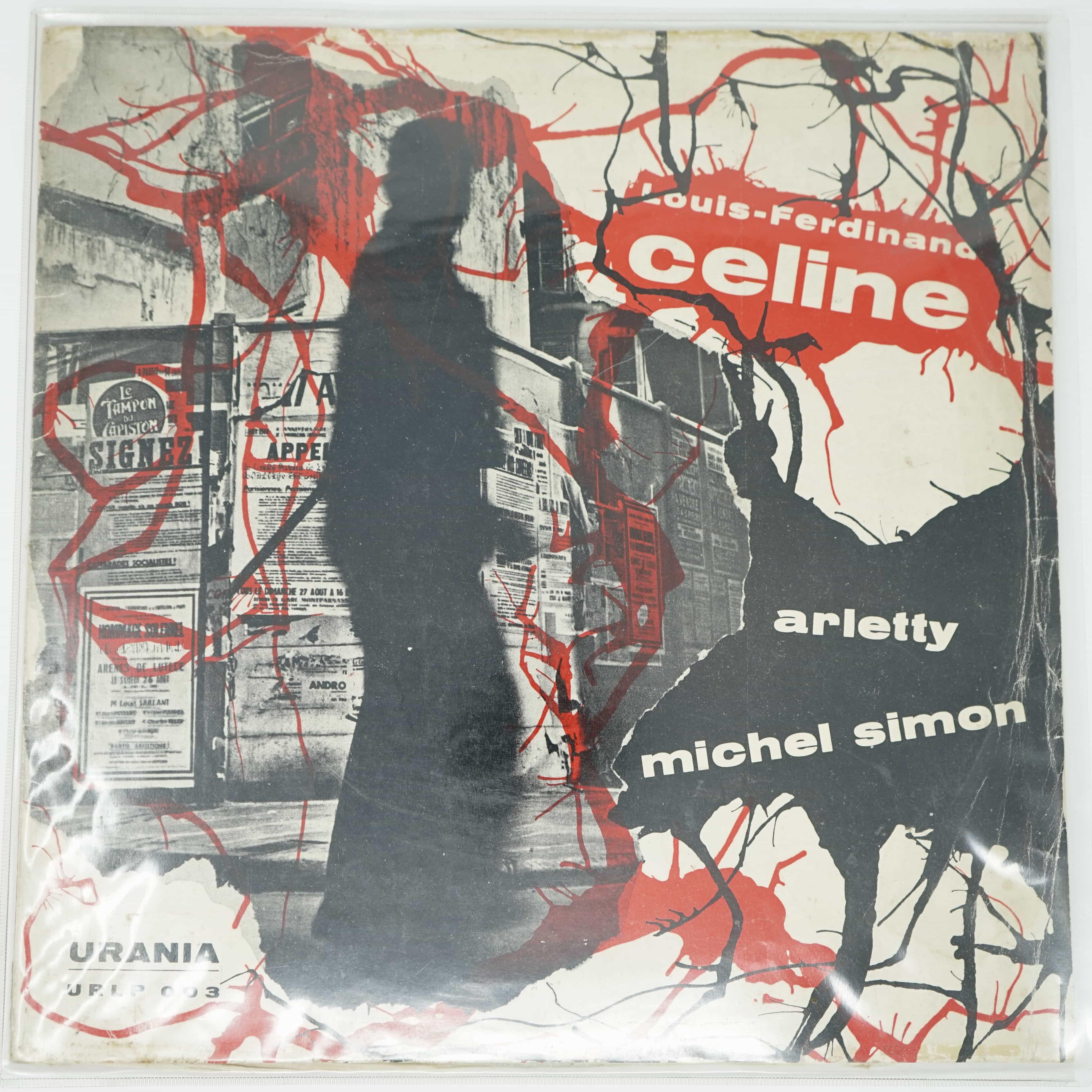 Vinyle Louis-Ferdinand Céline