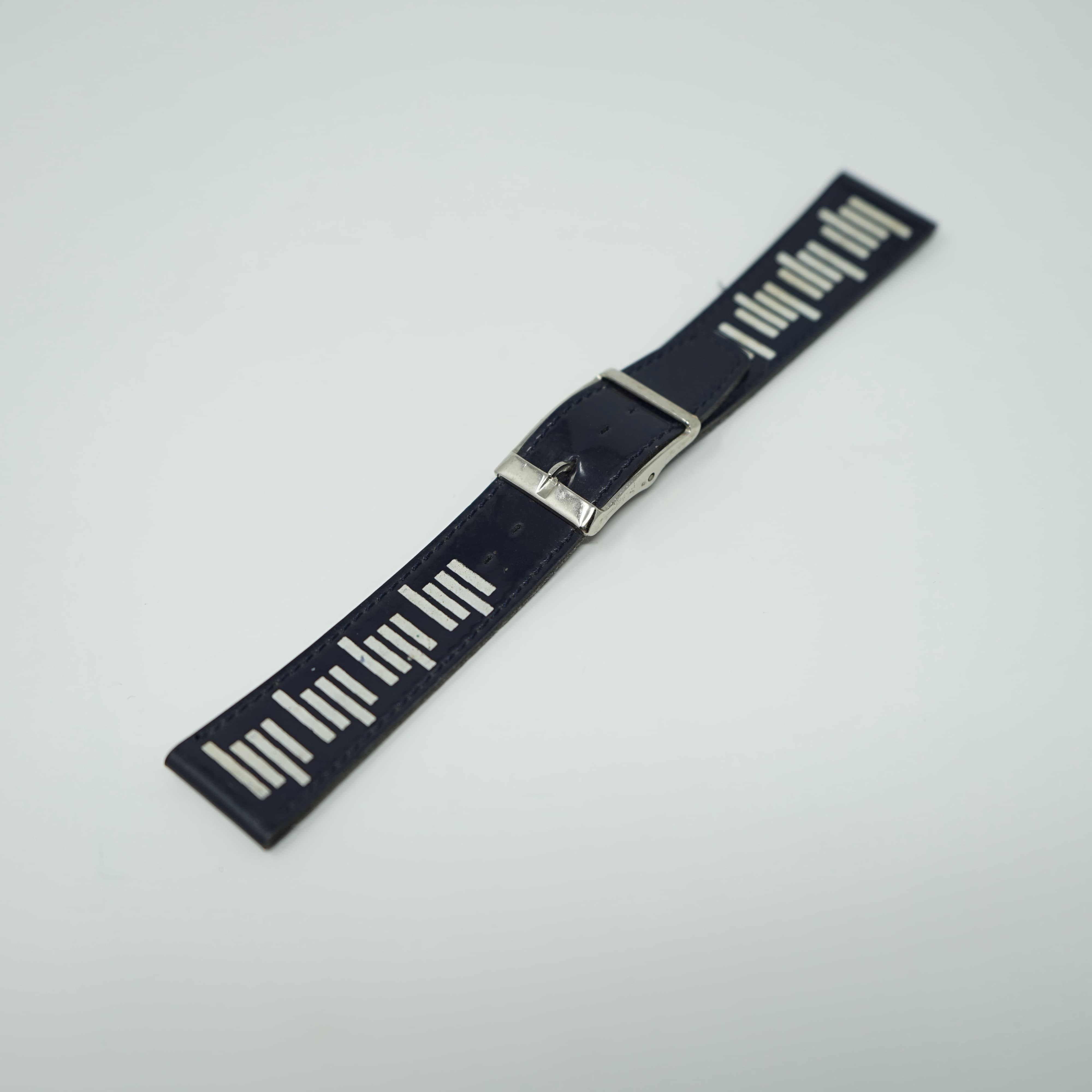 Bracelet LIP Verni Bleu 19mm