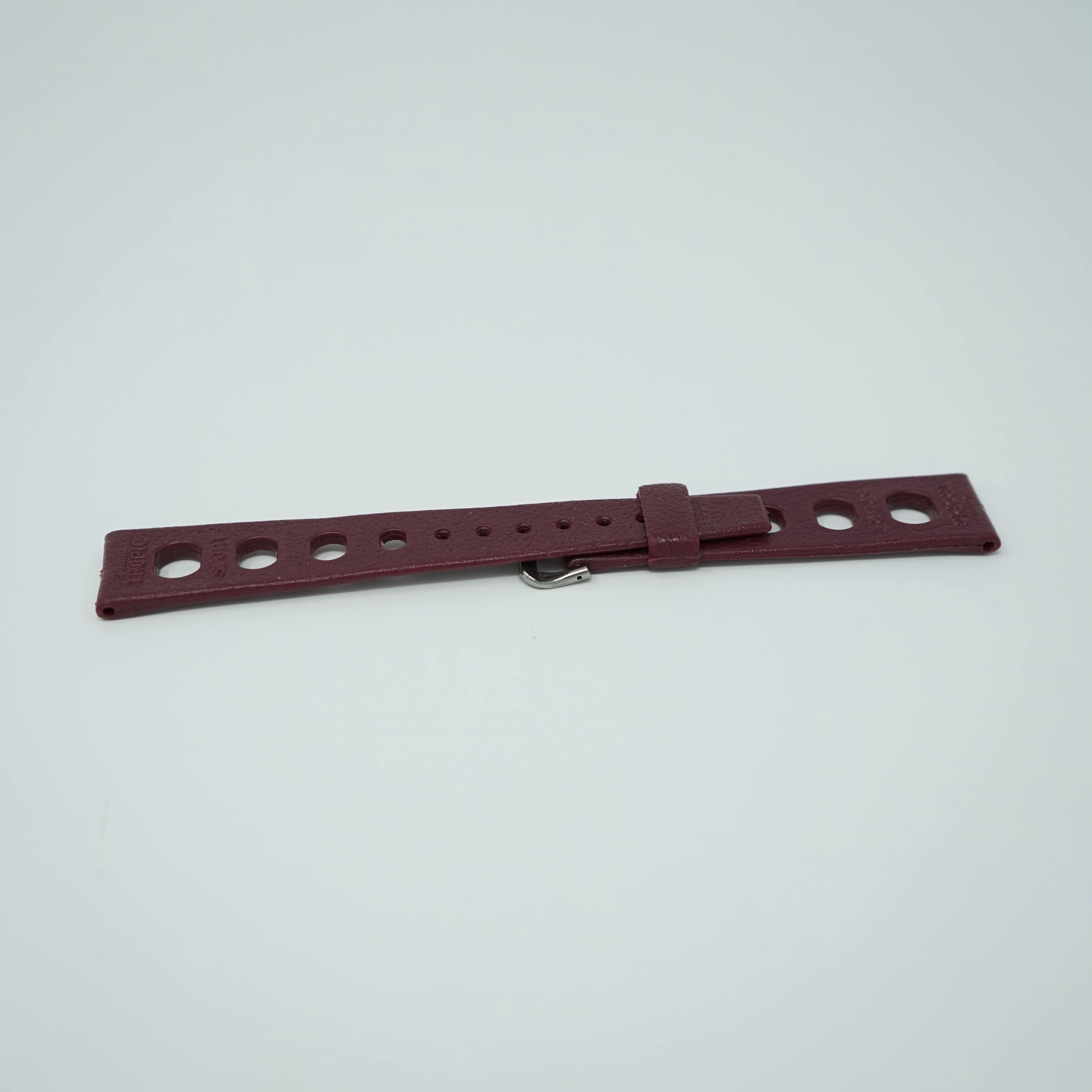 Bracelet Tropic Sport Bordeaux 20mm Arrière