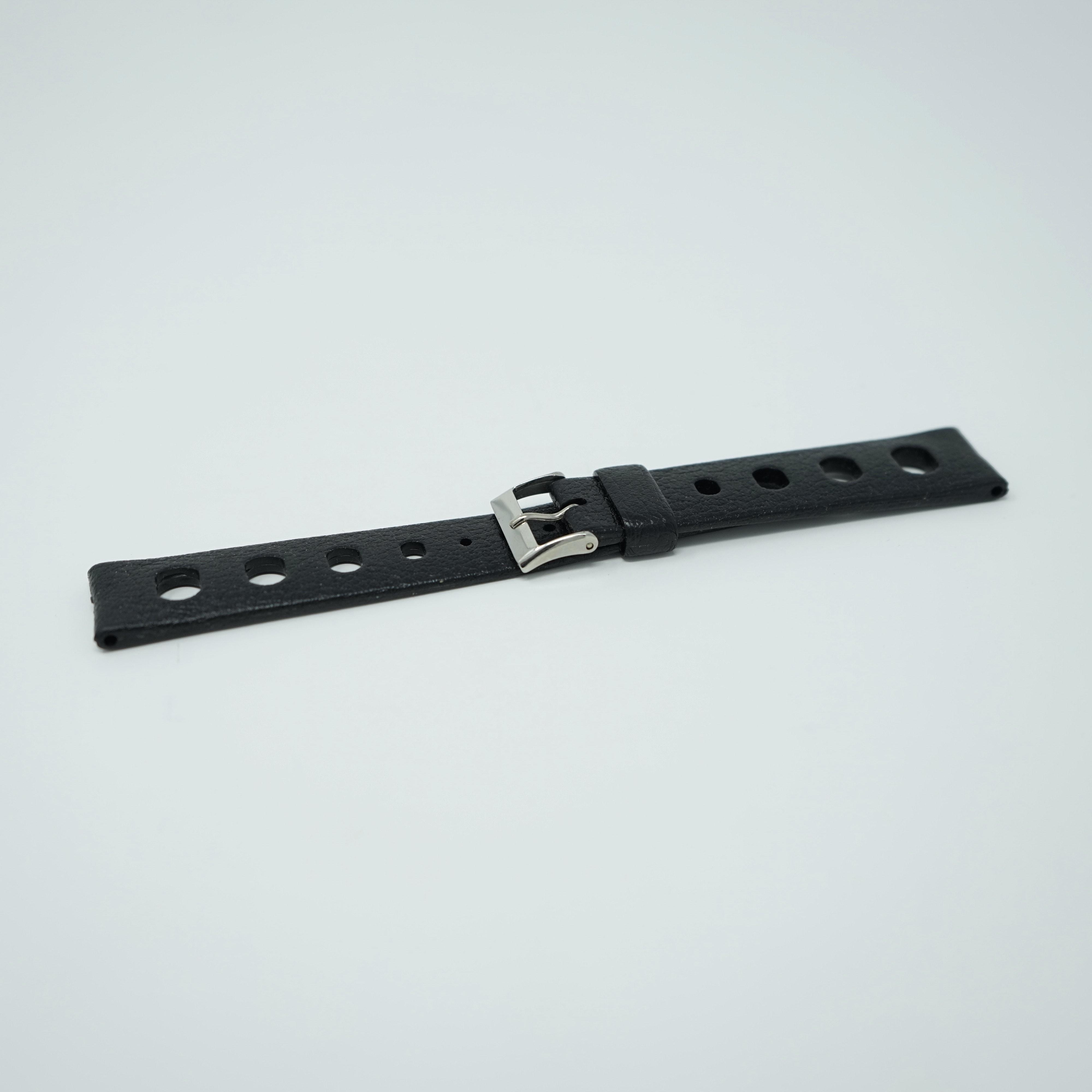 Bracelet Tropic Sport Noir 18mm Spécial Nautic-Ski Avant