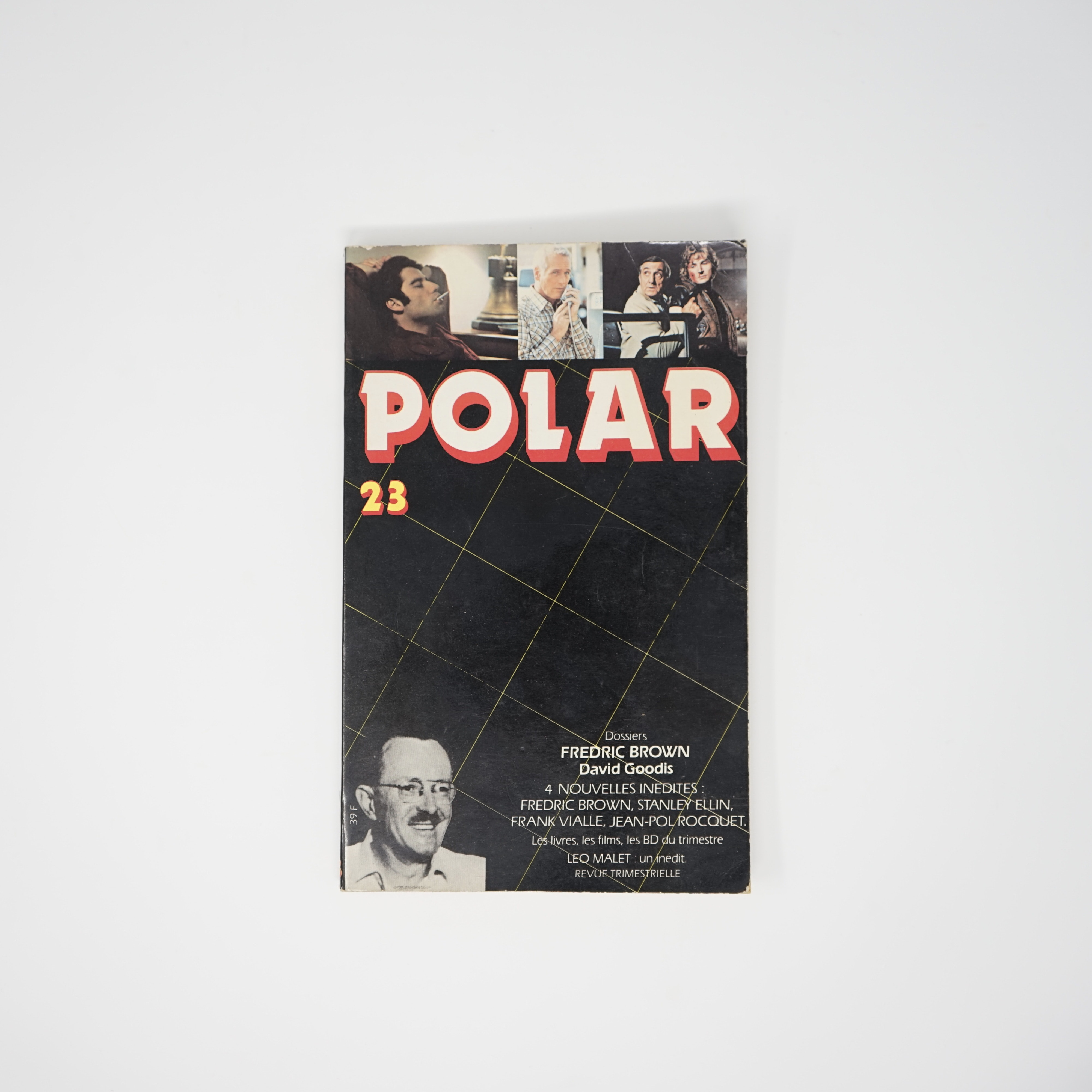 Lot Livre Polar 23 Dossiers Fredric Brown David Goodis