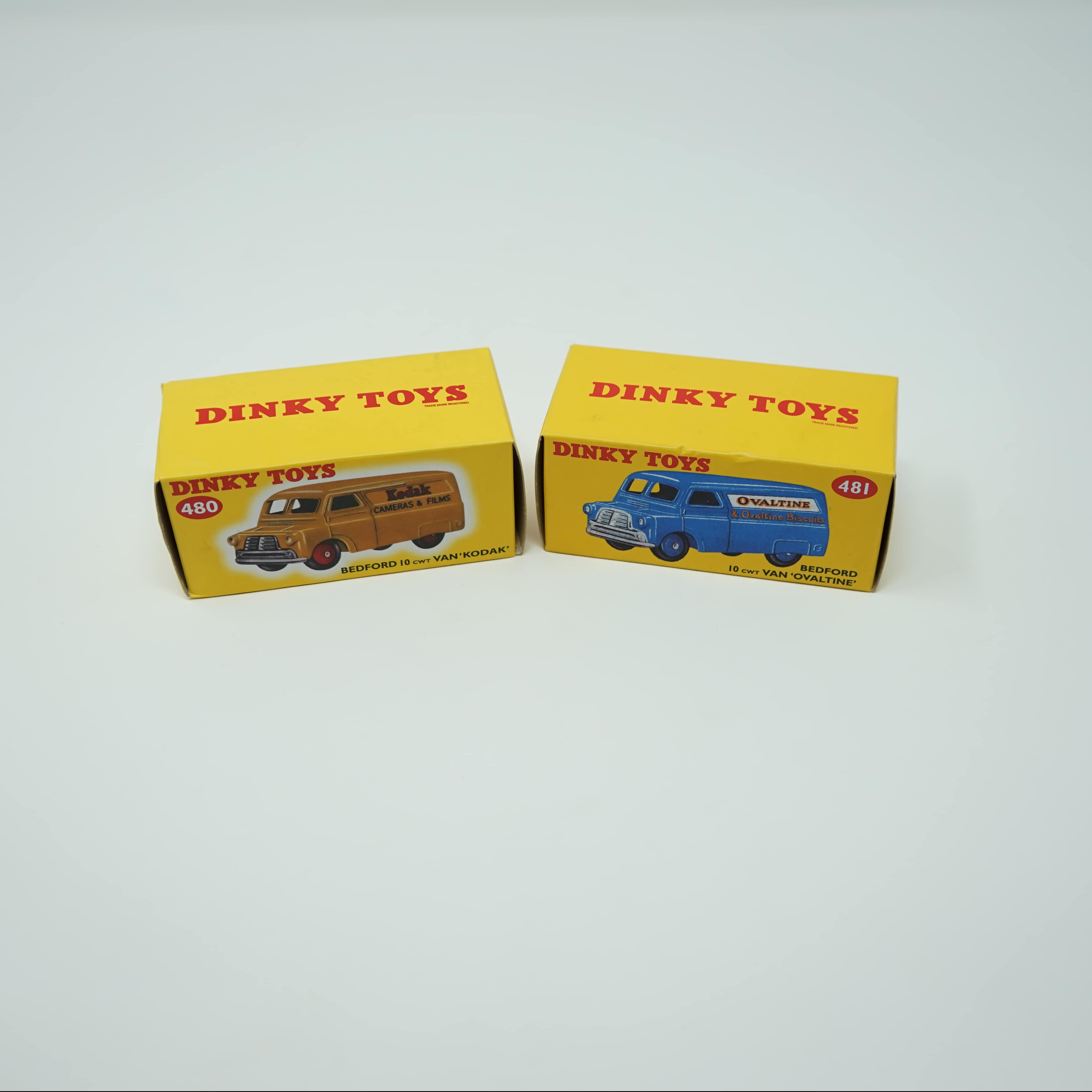 Dinky Toys Fourgons Bedford Atlas
