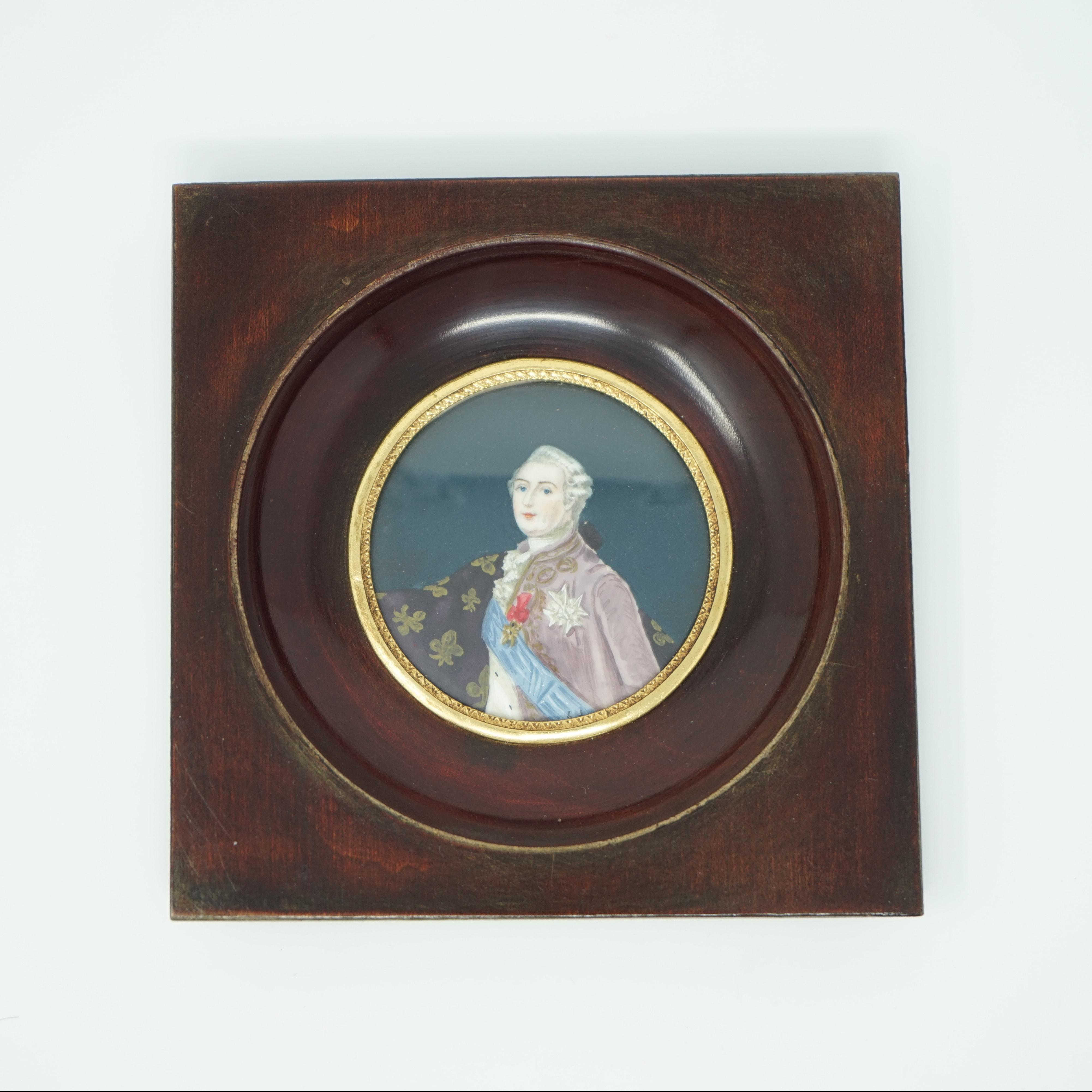 Portrait Miniature de Louis XVI