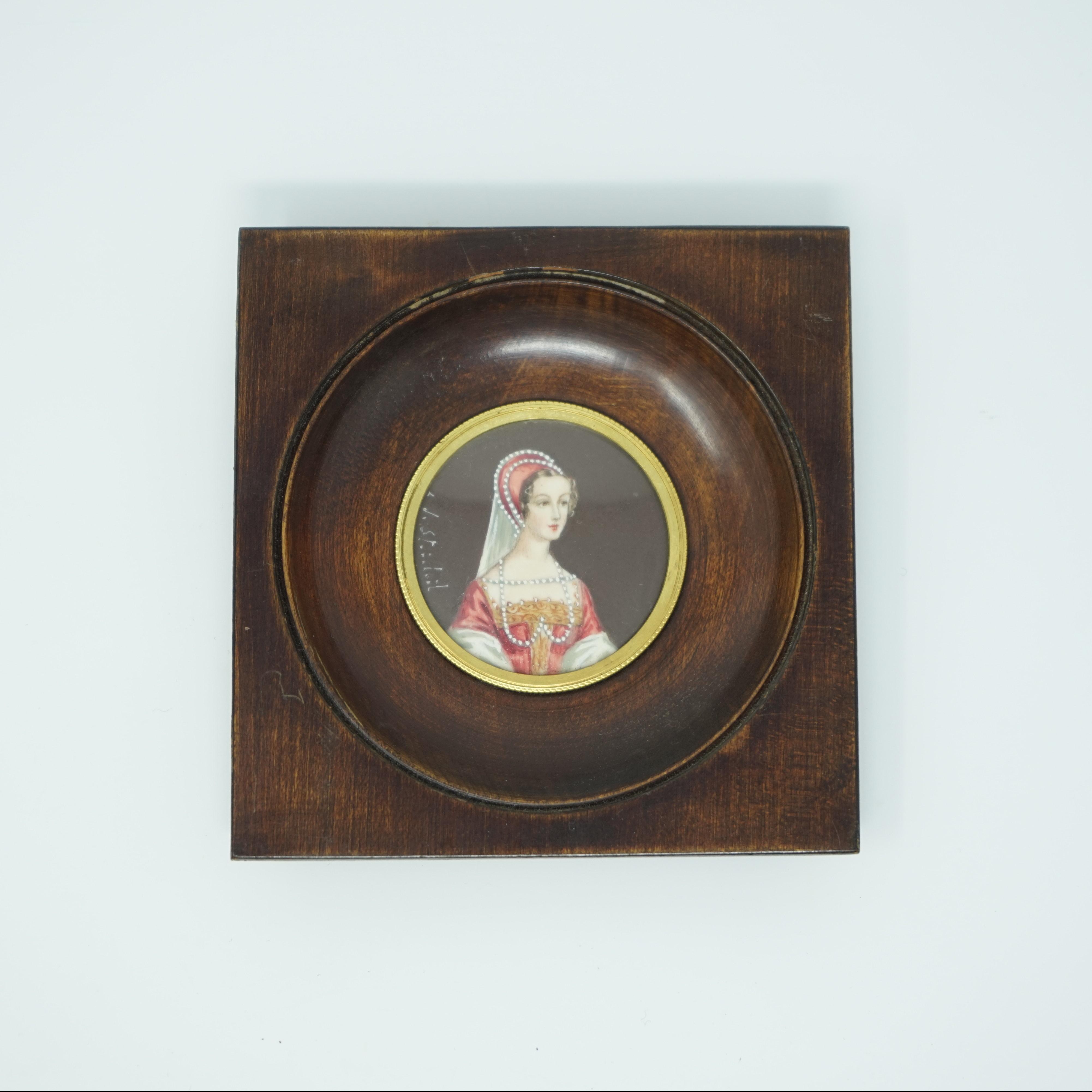 Portrait Miniature de Marie Stuart