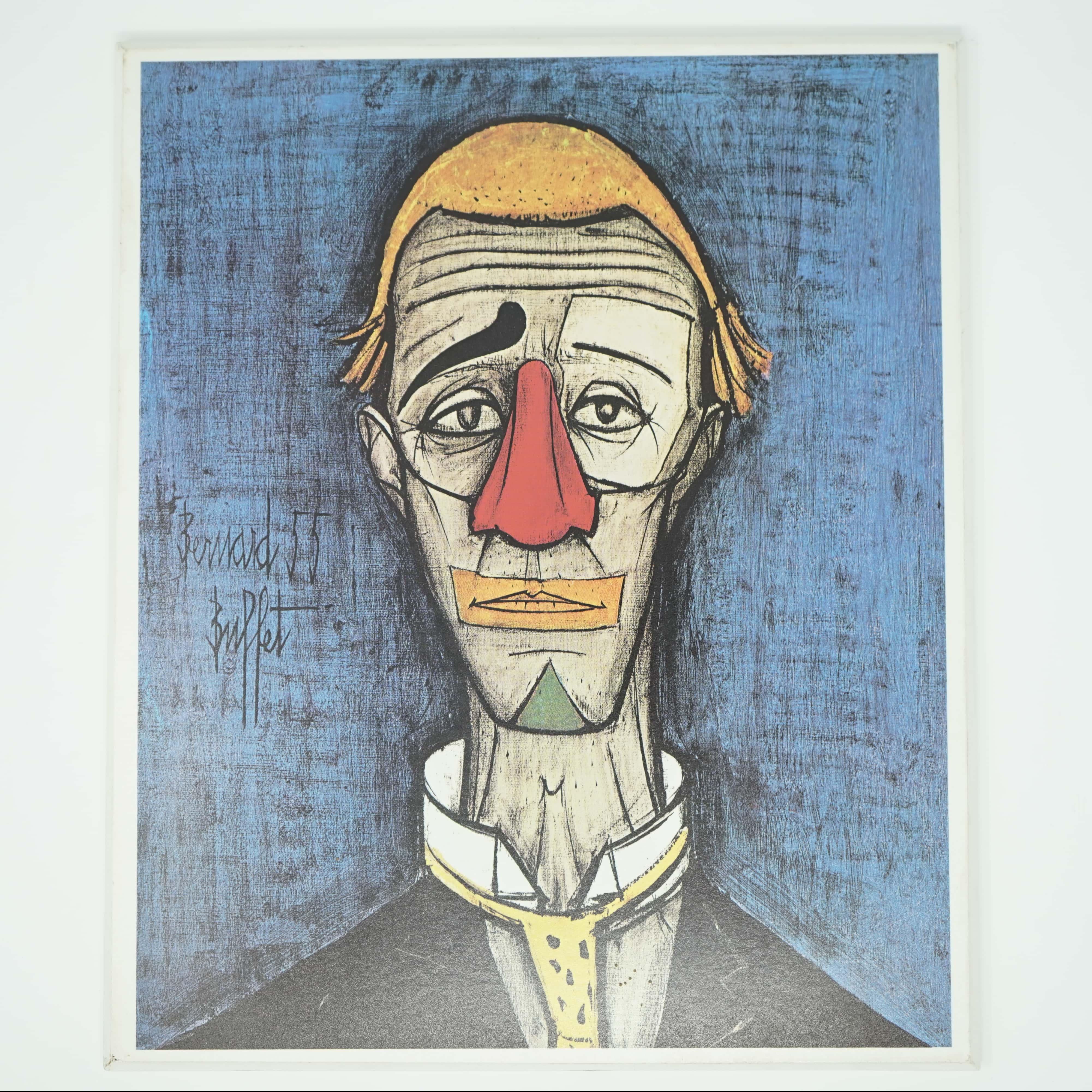 Portrait de Clown Bernard Buffet