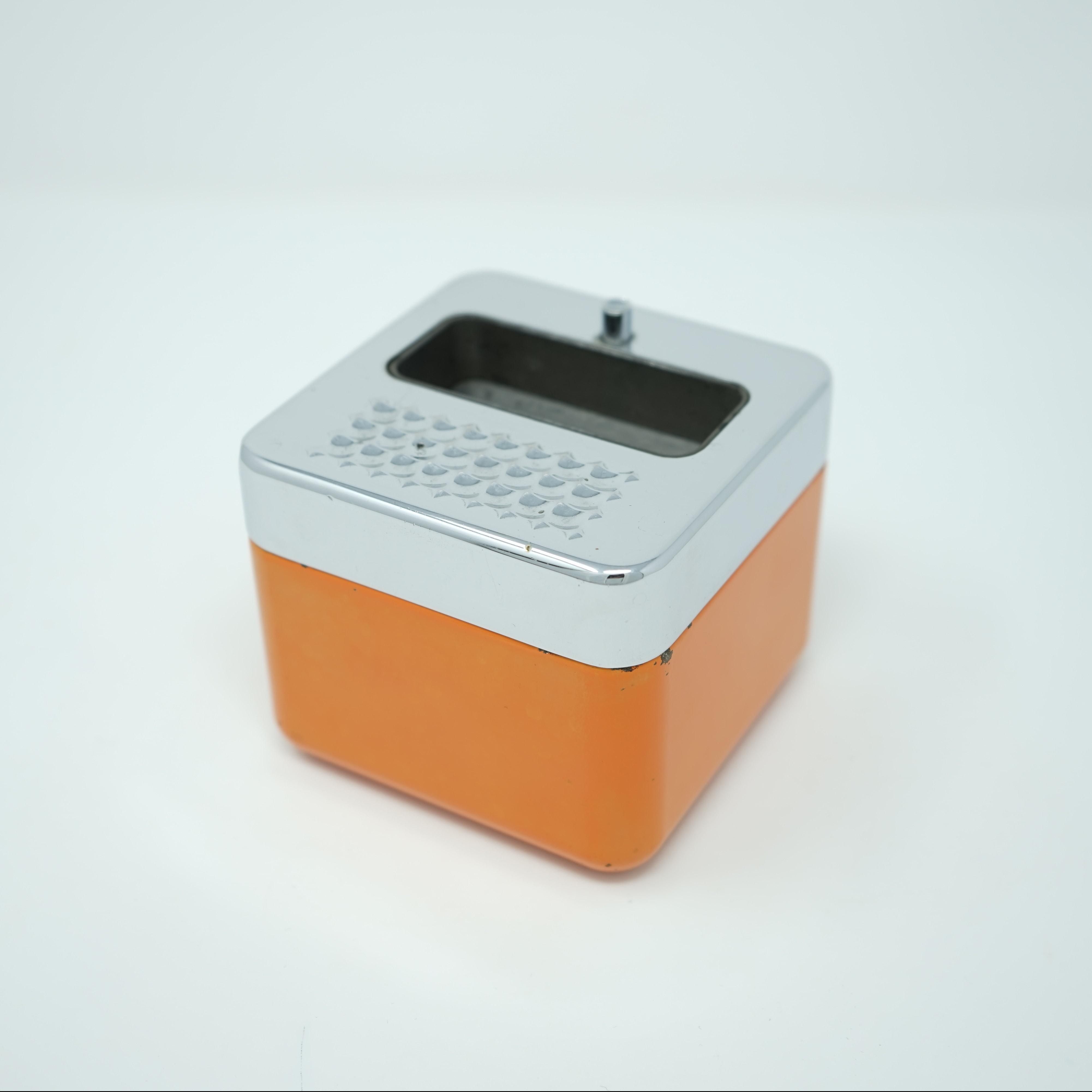 Cendrier Erhard Orange vintage
