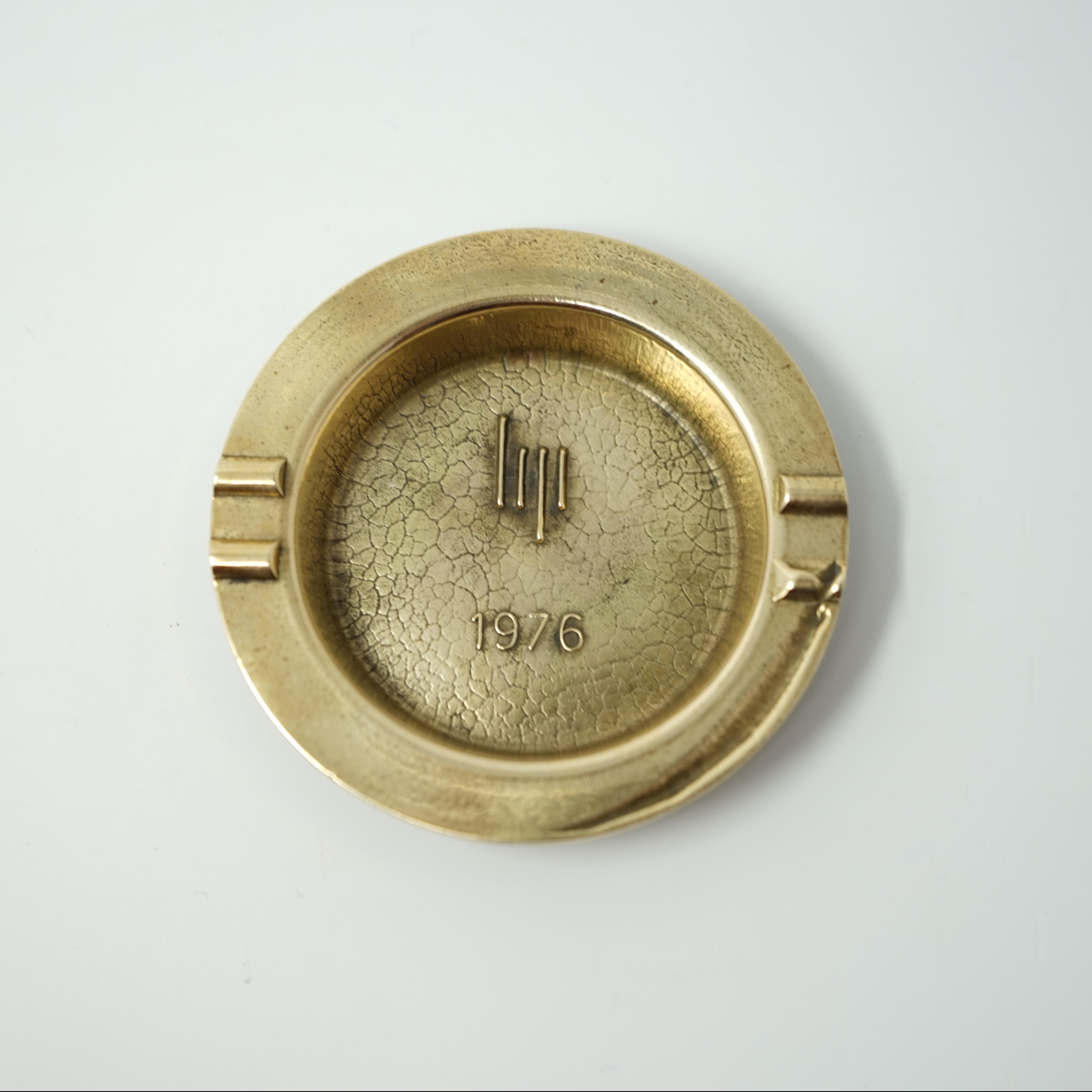 Cendrier LIP en Bronze de 1976