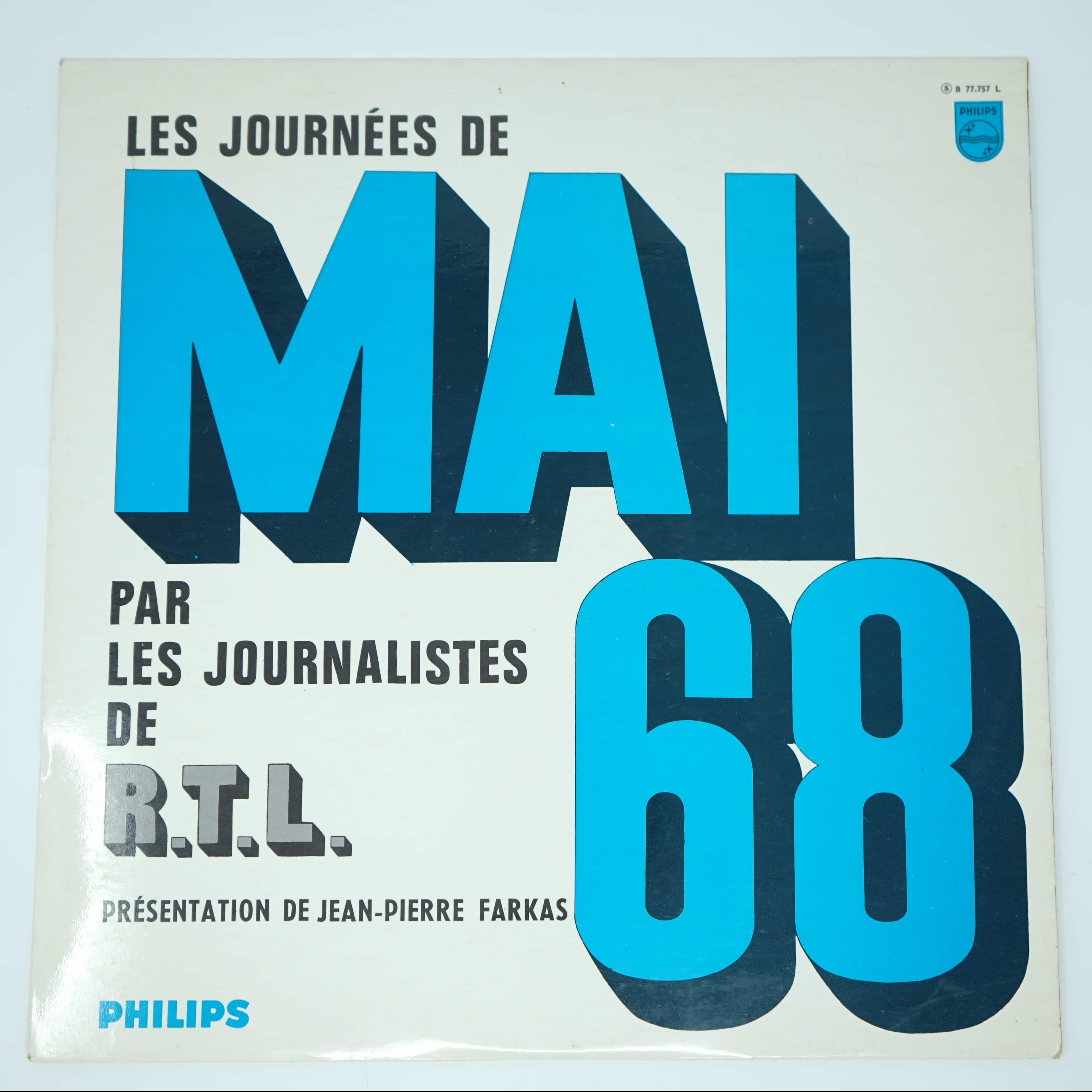 Disque Vinyle de Mai 68