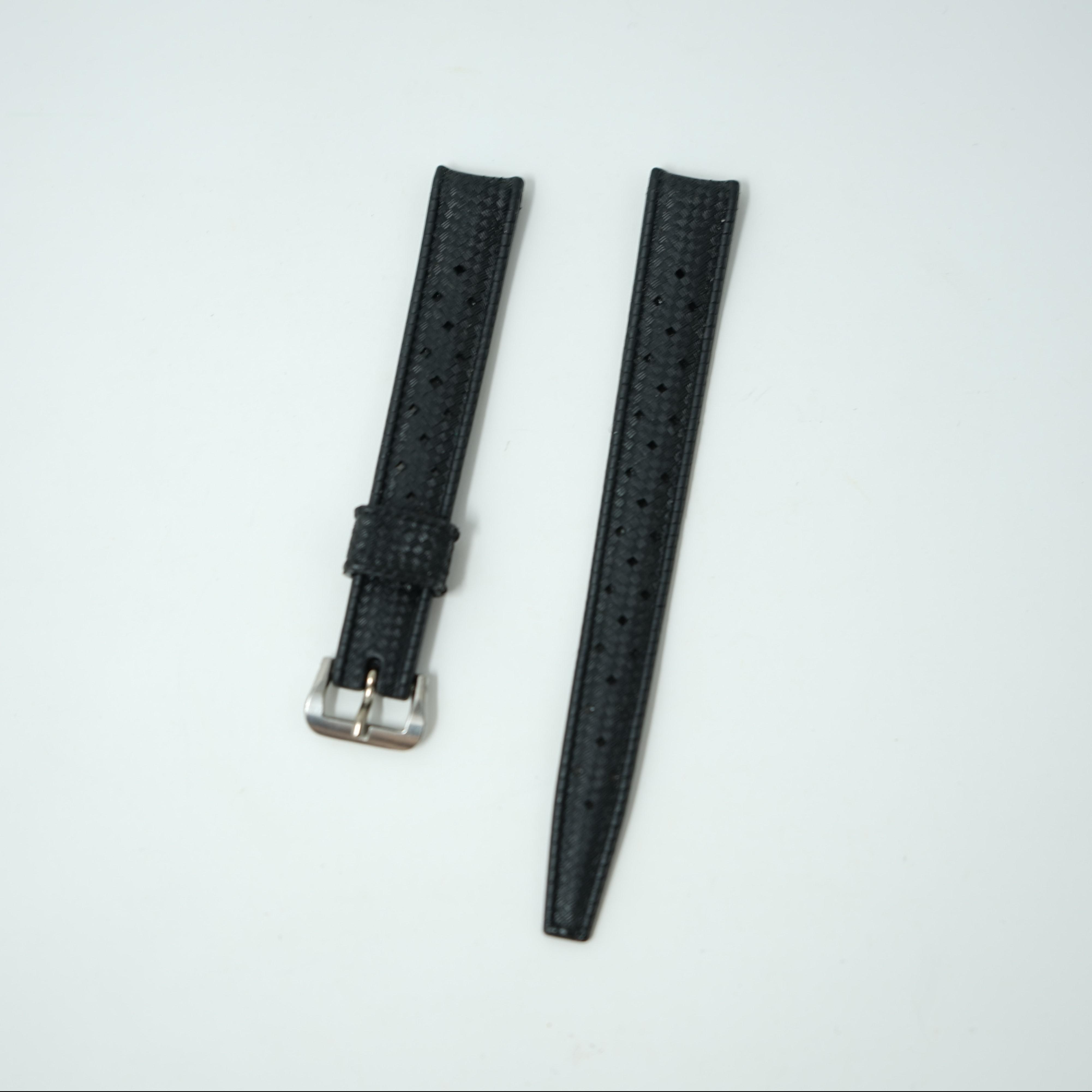 Bracelet Tropic 12 mm Noir ancien