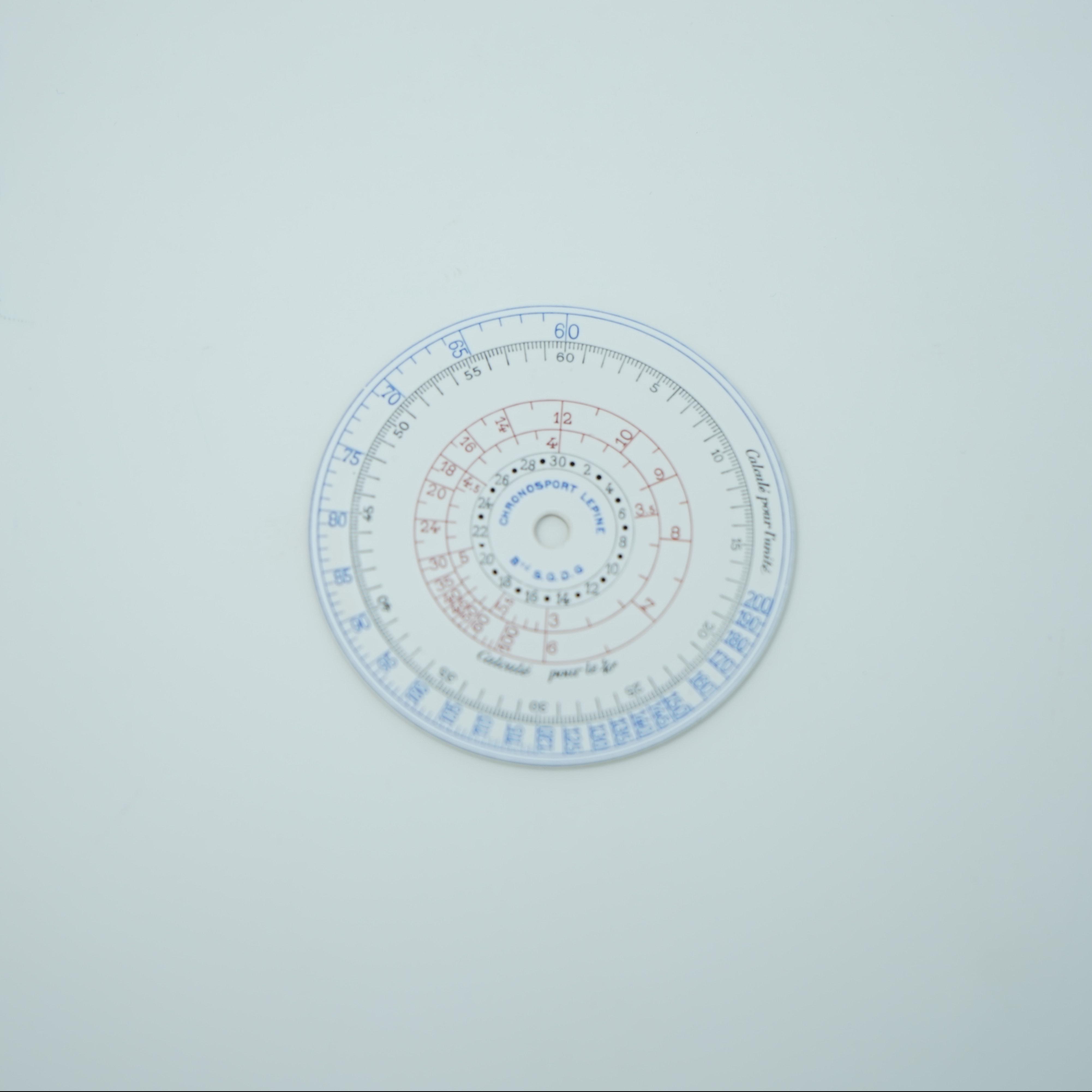 Cadran Chronosport Lepine n°1