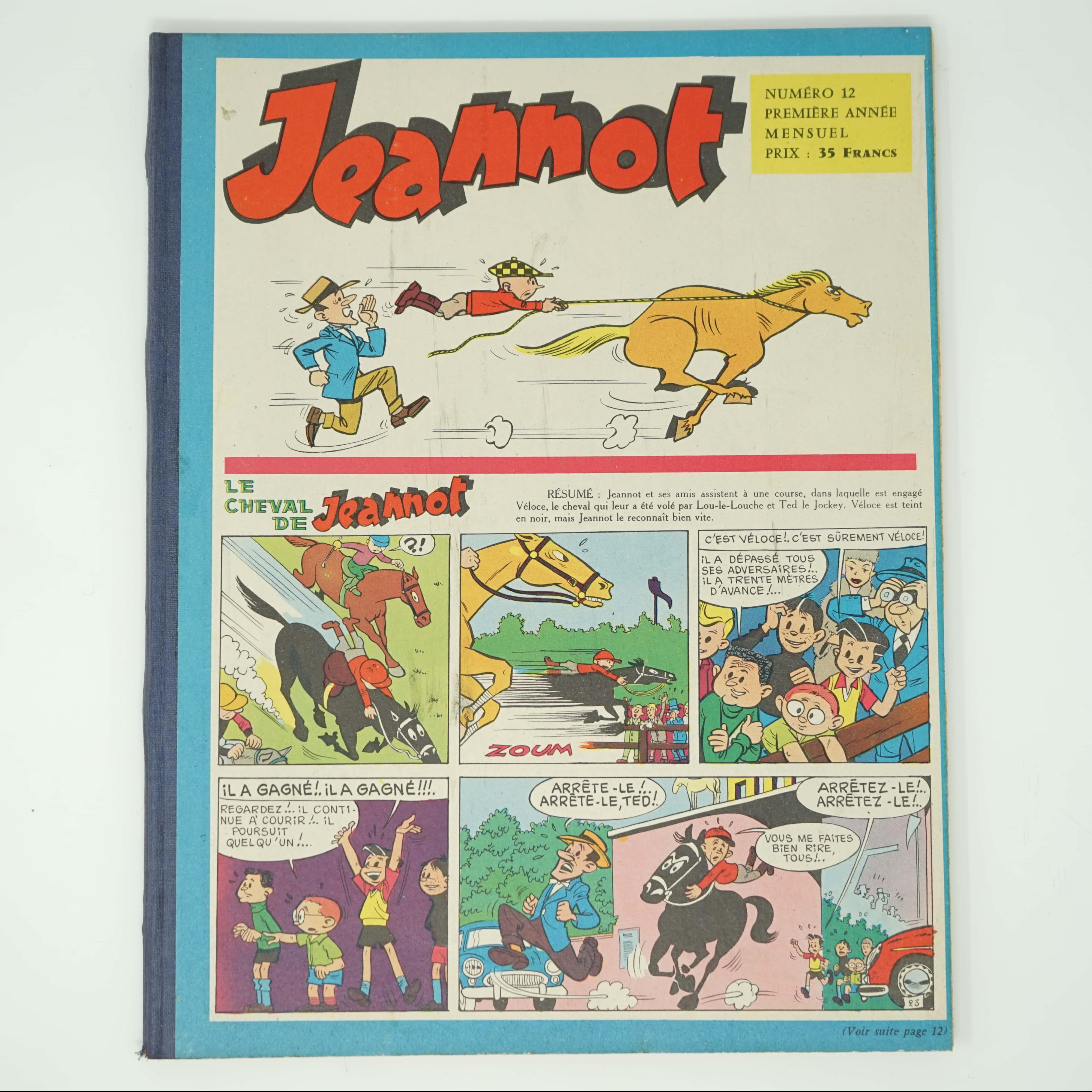 Recueil Jeannot une BD de Goscinny couverture