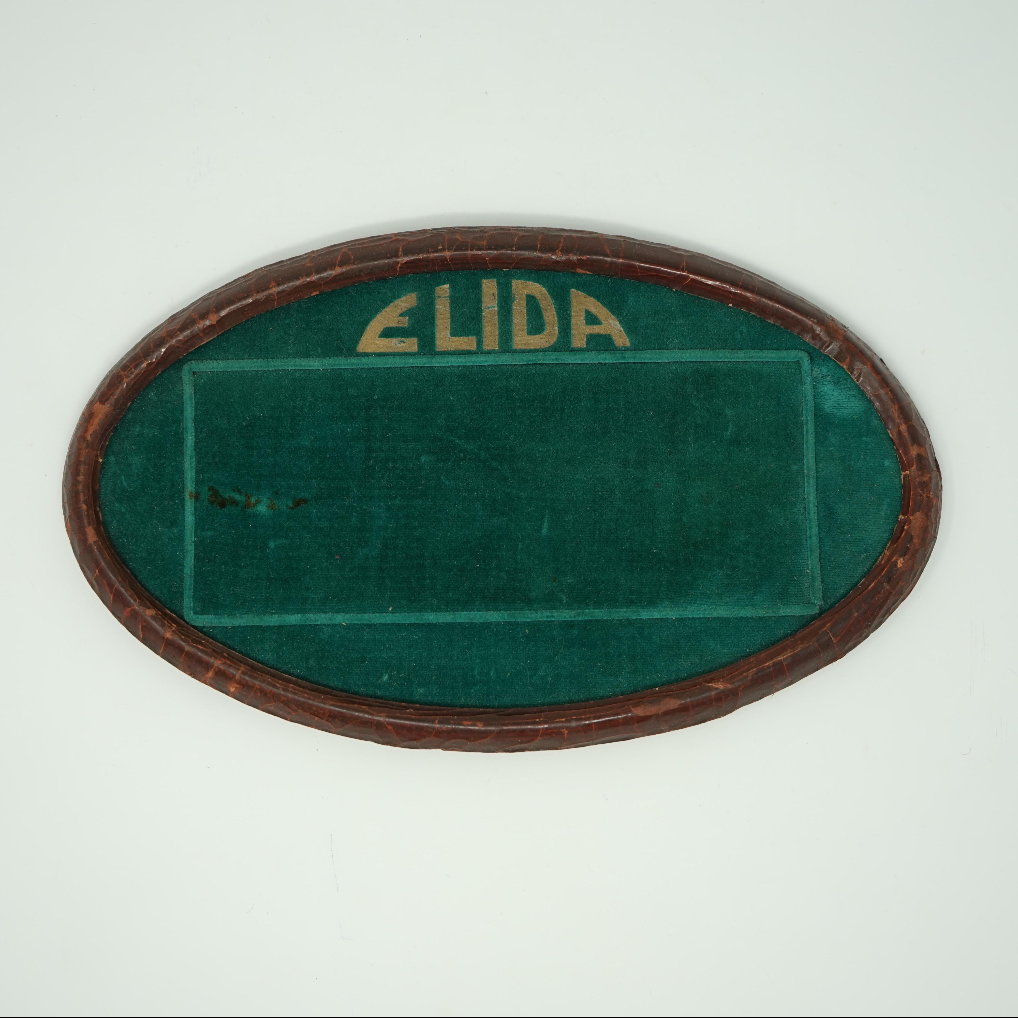 Ancien Présentoir de Montres Elida