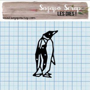 Die Sagapo Scrap pingouin collection 7