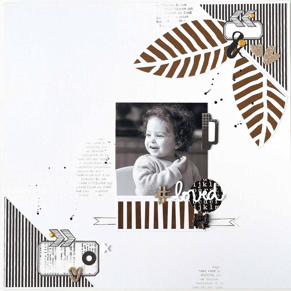 tuto page scrap, scrapbooking, tutoriel