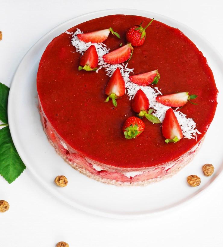 recette fraisier cru