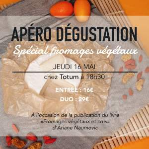 apero fromage vegetal