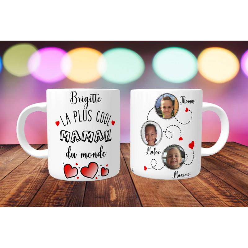 Mug Personnalisable La Plus Cool Maman Du Monde