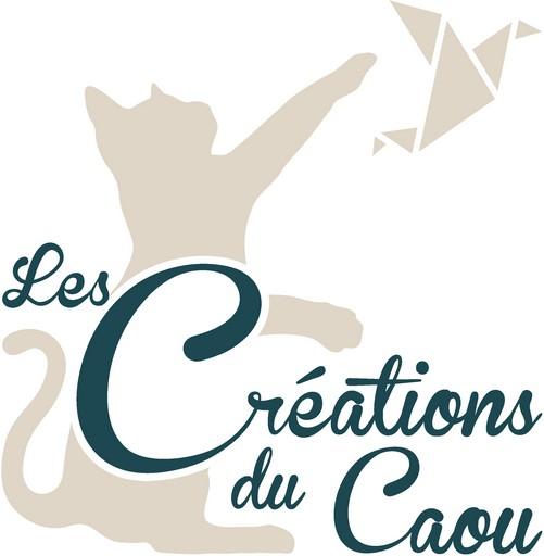 Logo les créations du Caou. Papeterie artisanale et créations en origami à Lambersart (Lille).