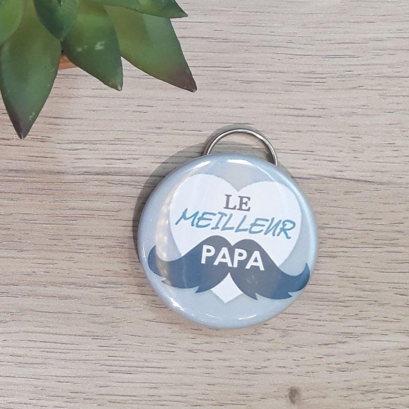 Porte-clés décapsuleur fait main à Lambersart (Lille) pour les papas.