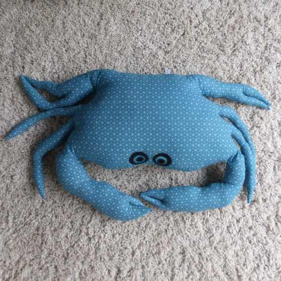crabe pouf, pouf crabe, assise d'appoint