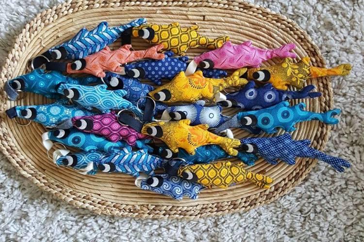porte-clés sardine, Fred Petit
