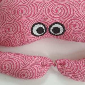 crabe-rose-détail