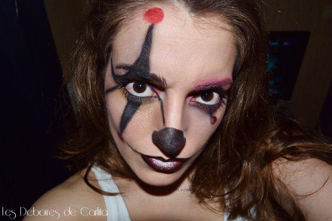 maquillage de clown vaincre sa phobie les d boires de carlita. Black Bedroom Furniture Sets. Home Design Ideas