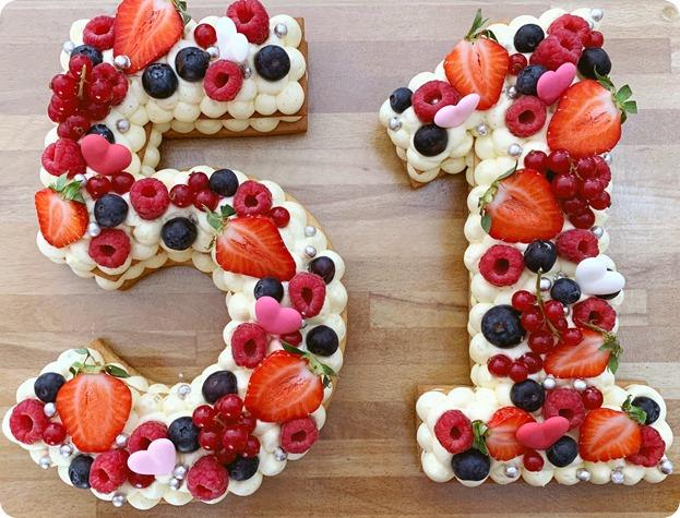 Number cake 51