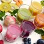 Bar à jus multicolor
