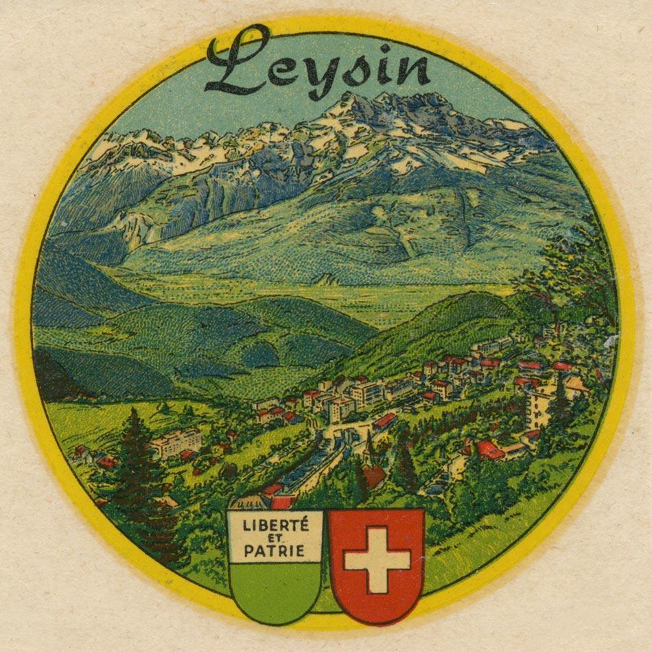 Décalque Leysin