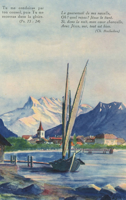 Carte postale, Villeneuve