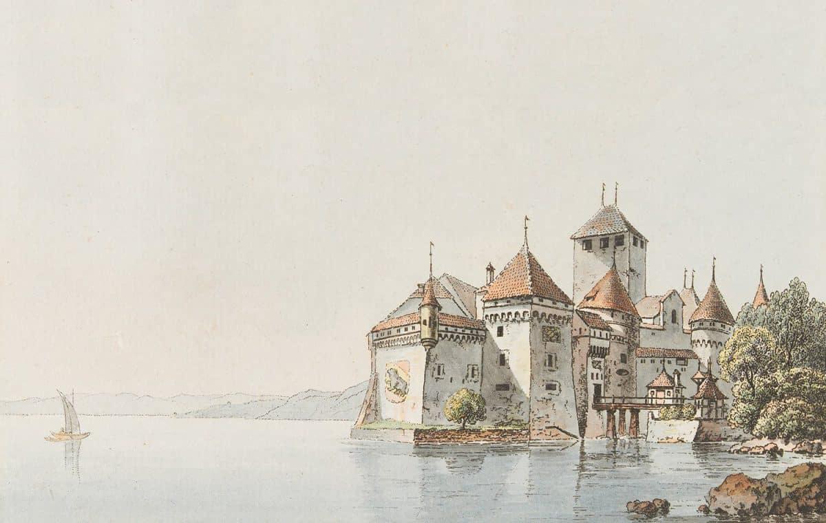 Peinture. Château de Chillon