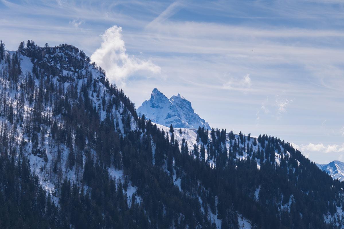 Sommets des Dents du Midi depuis le col des Essets. © Fabrice Ducrest