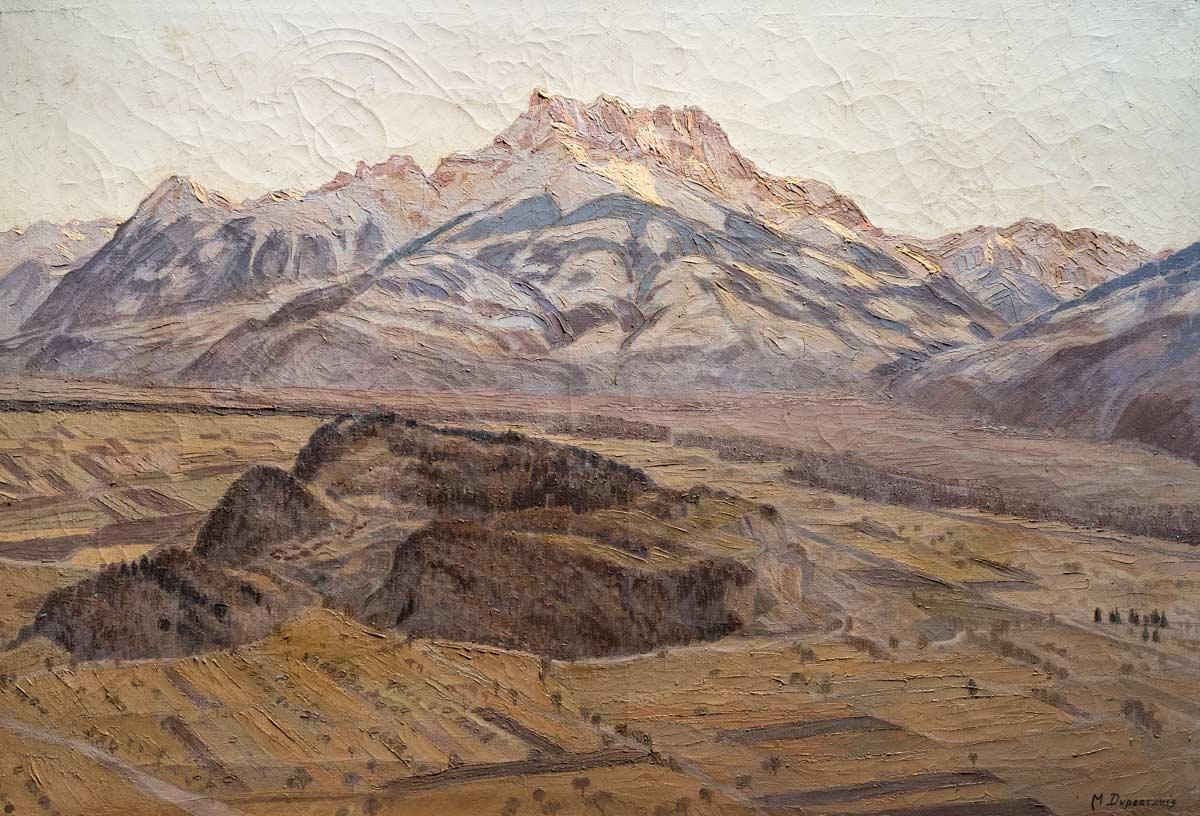 Marguerite Duperthuis (1885-1962), huile 80 x 100cm, non datée. Collection privée