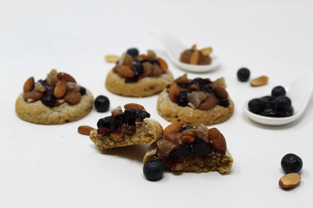 Cookies Amandes Marron Myrtille Cassis 2