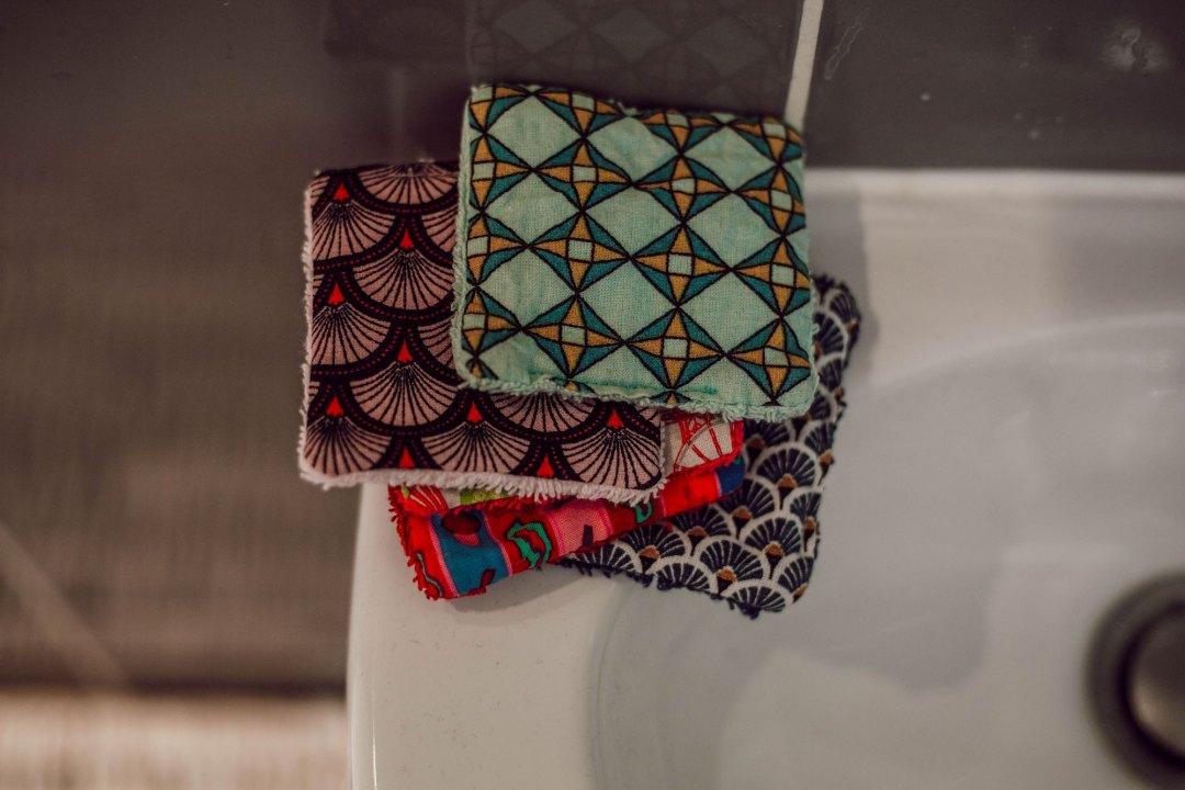 Cotons lavables - Lesdeuxchouettes.fr