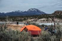 Camping entre Blanding et Monticello