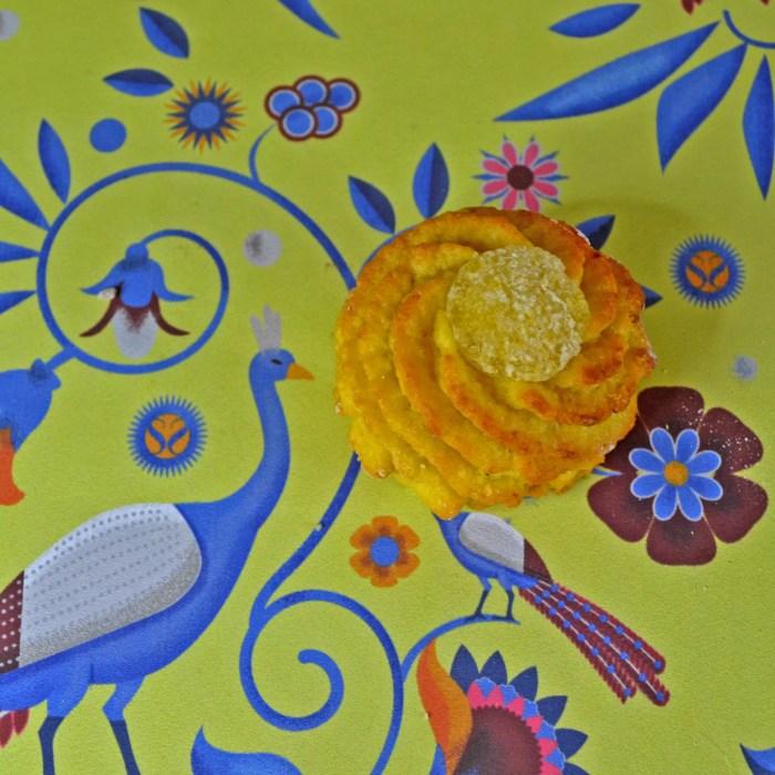 pâte d'amande au citron